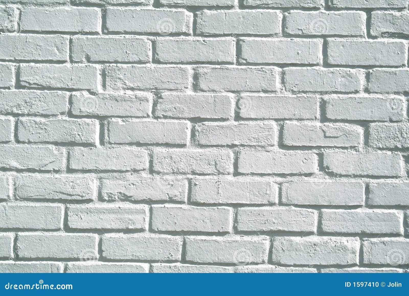 Fondo blanco de la pared de ladrillo foto de archivo - Ladrillos para pared ...
