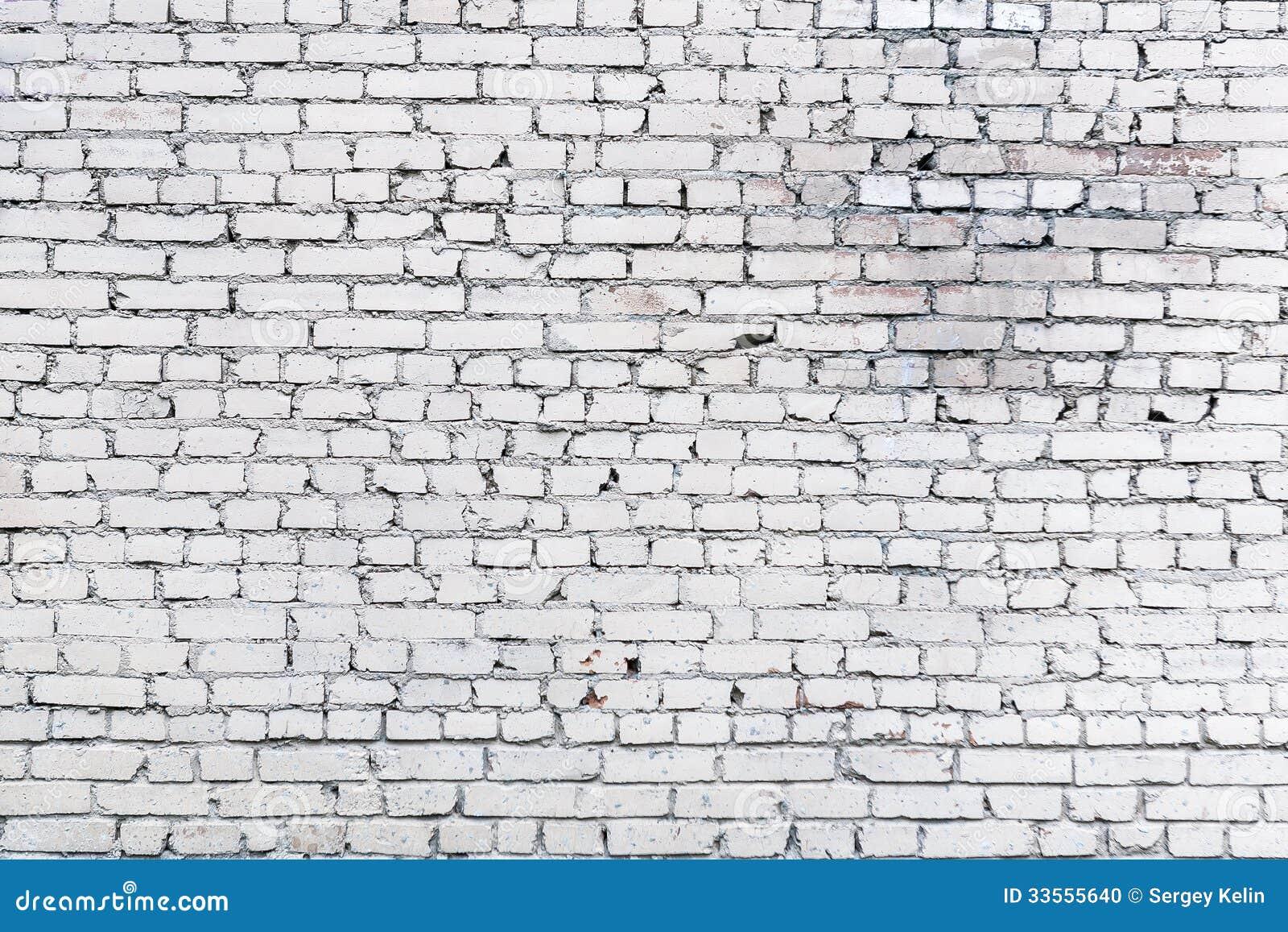 Fondo blanco de la pared de ladrillo foto de archivo - Pared ladrillo blanco ...