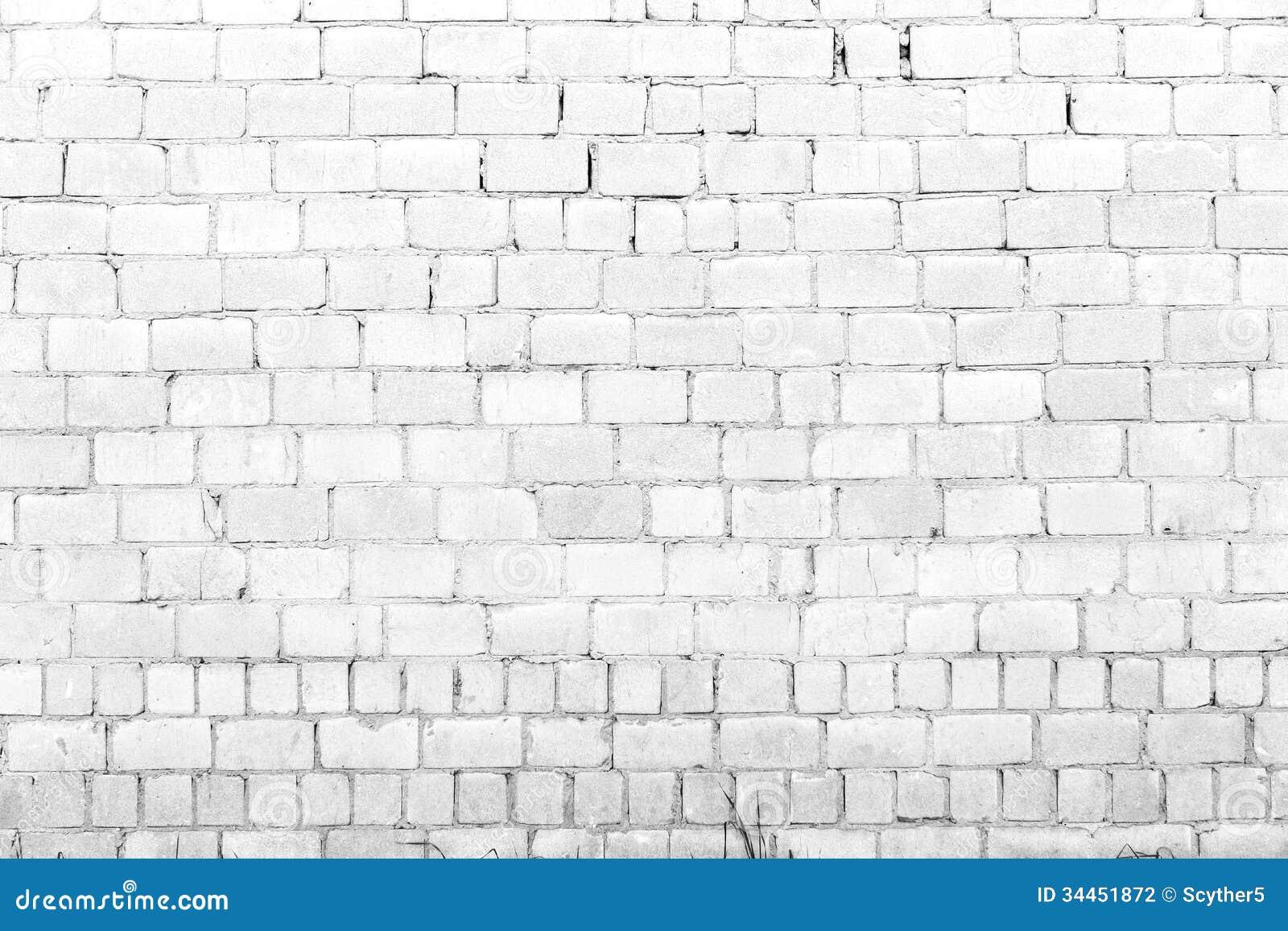 Fondo blanco de la pared de ladrillo fotograf a de archivo - Pared ladrillo blanco ...