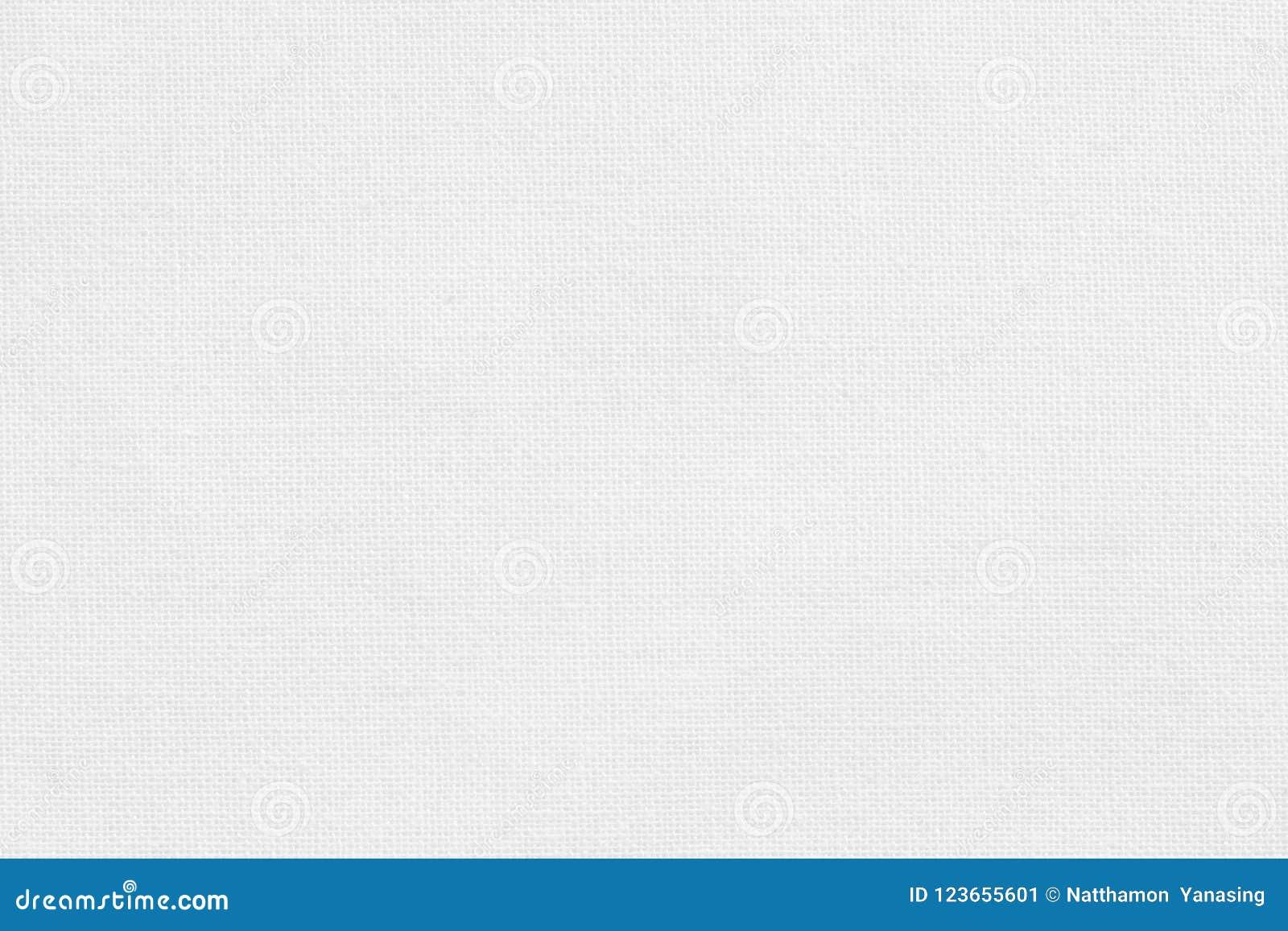 Fondo Blanco De La Textura De La Tela De Algodón, Modelo Inconsútil ...