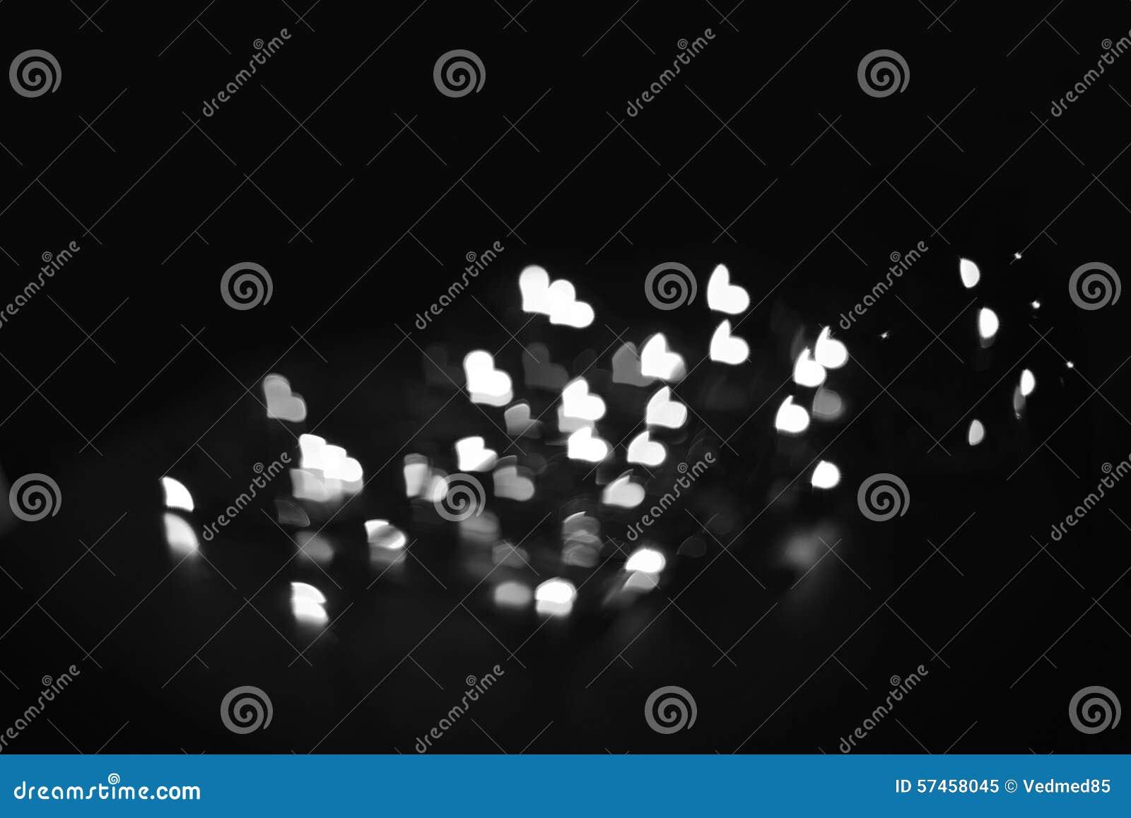 Fondo Blanco Y Negro De La Falta De Definición Del Amor Imagen De