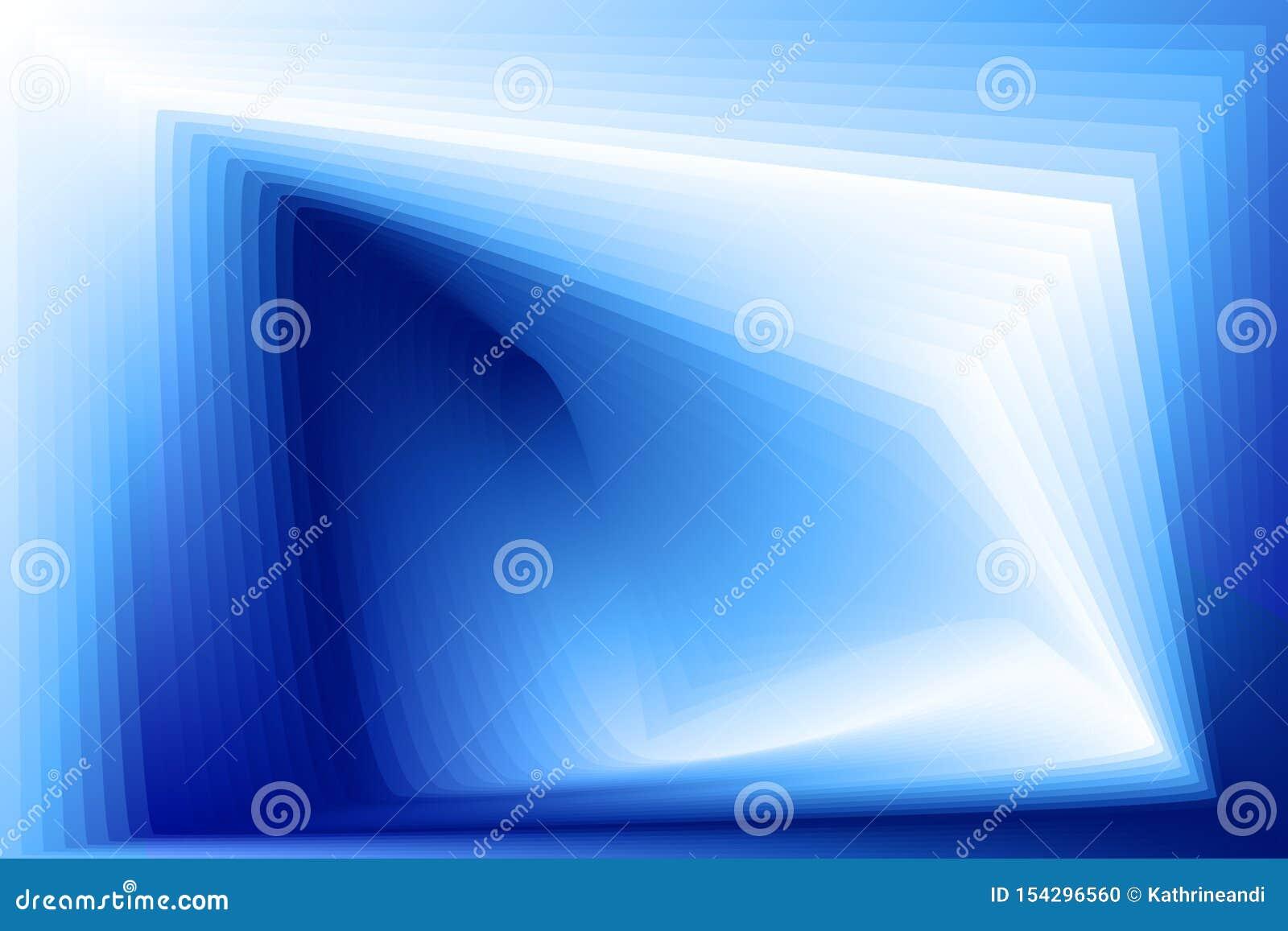 Fondo blu astratto con la pendenza geometrica