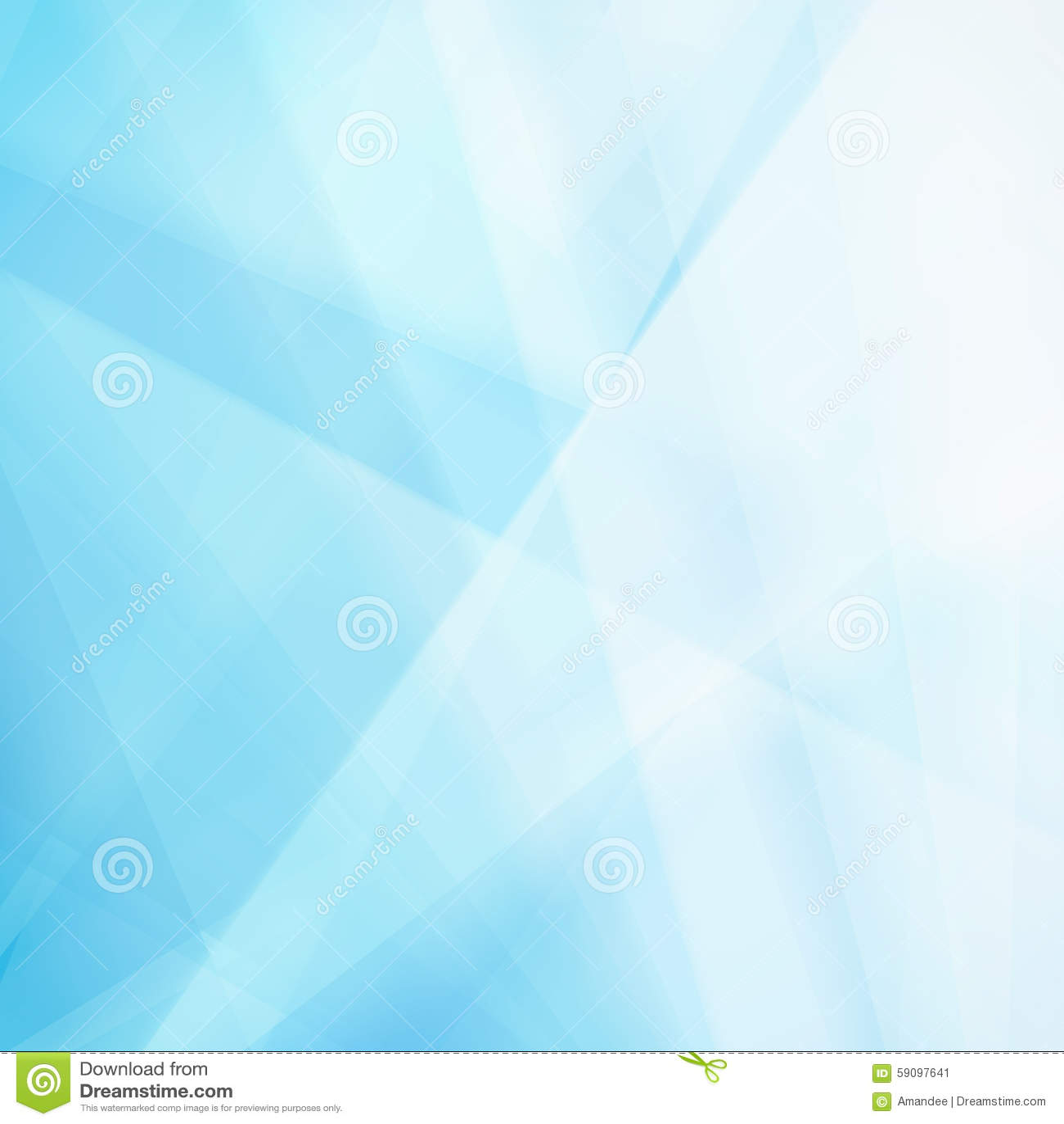 Fondo blu astratto con le forme e la sfuocatura bianche del triangolo