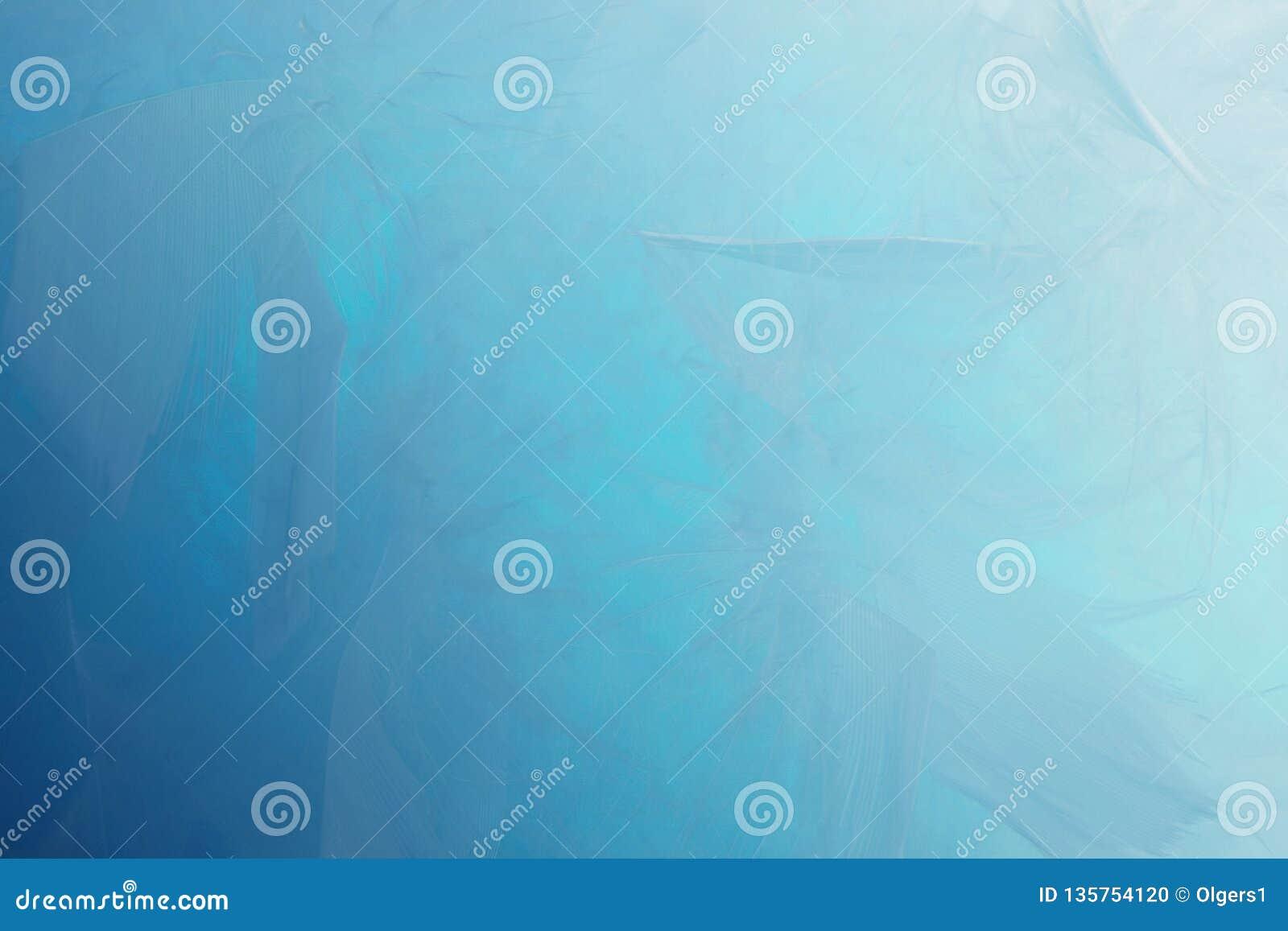 Fondo blu astratto delle piume di tono Struttura della Boemia d annata del pastello di stile della piuma di progettazione lanugin