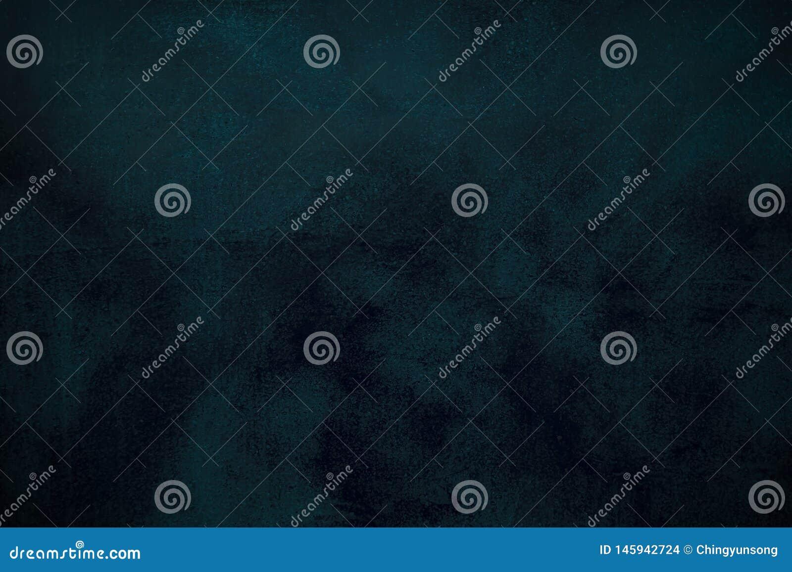 Fondo blu astratto o fondo nero con i lotti di struttura d annata afflitta approssimativa del fondo di lerciume