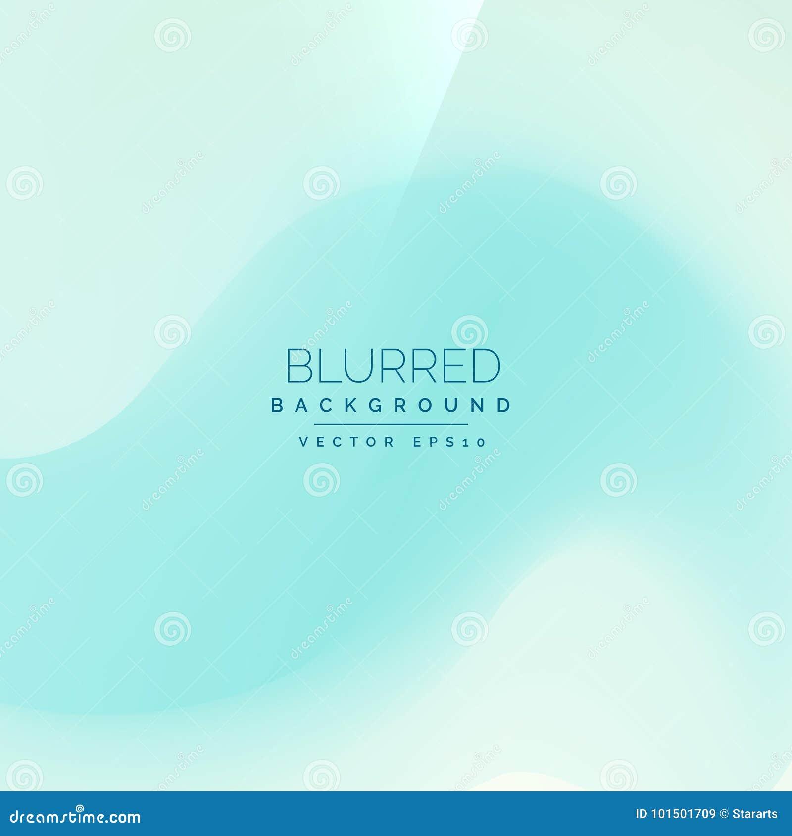 Fondo blu-chiaro nello stile della sfuocatura