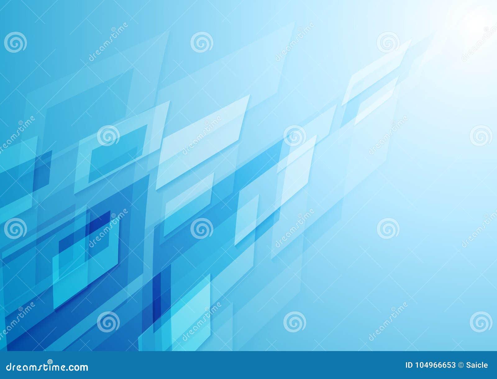 Fondo blu luminoso dell estratto di ciao-tecnologia