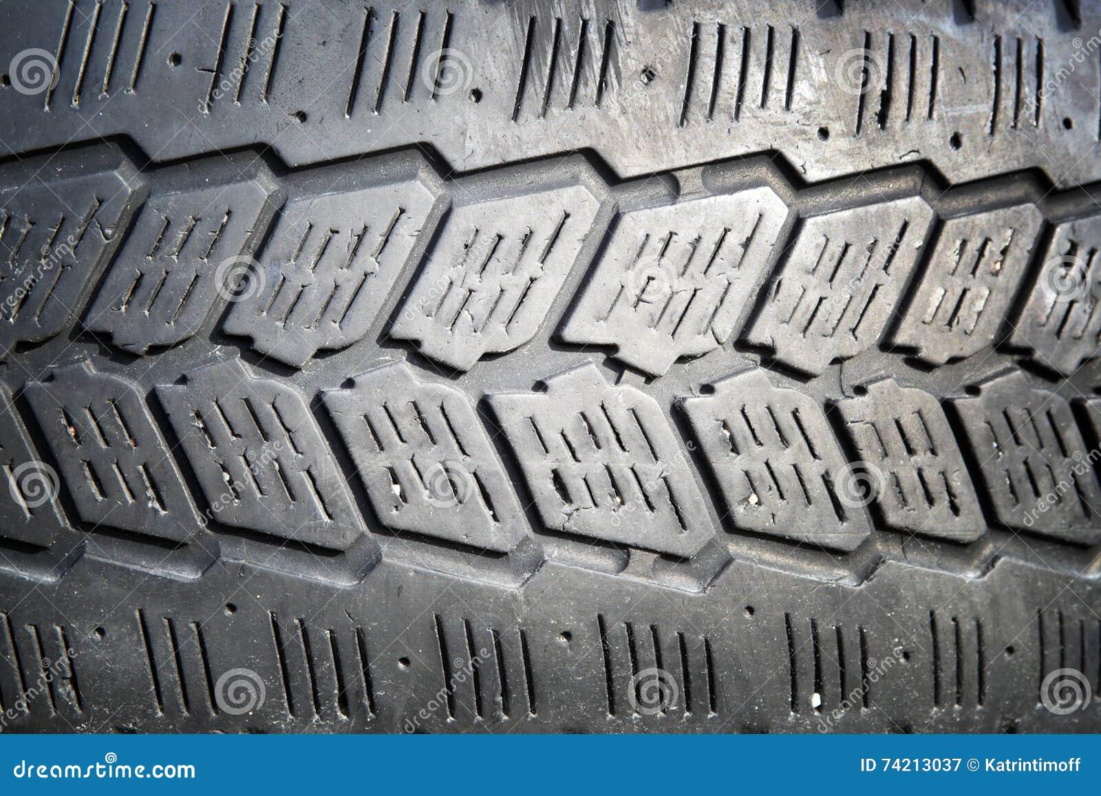 Fondo borrado de los neumáticos de automóvil