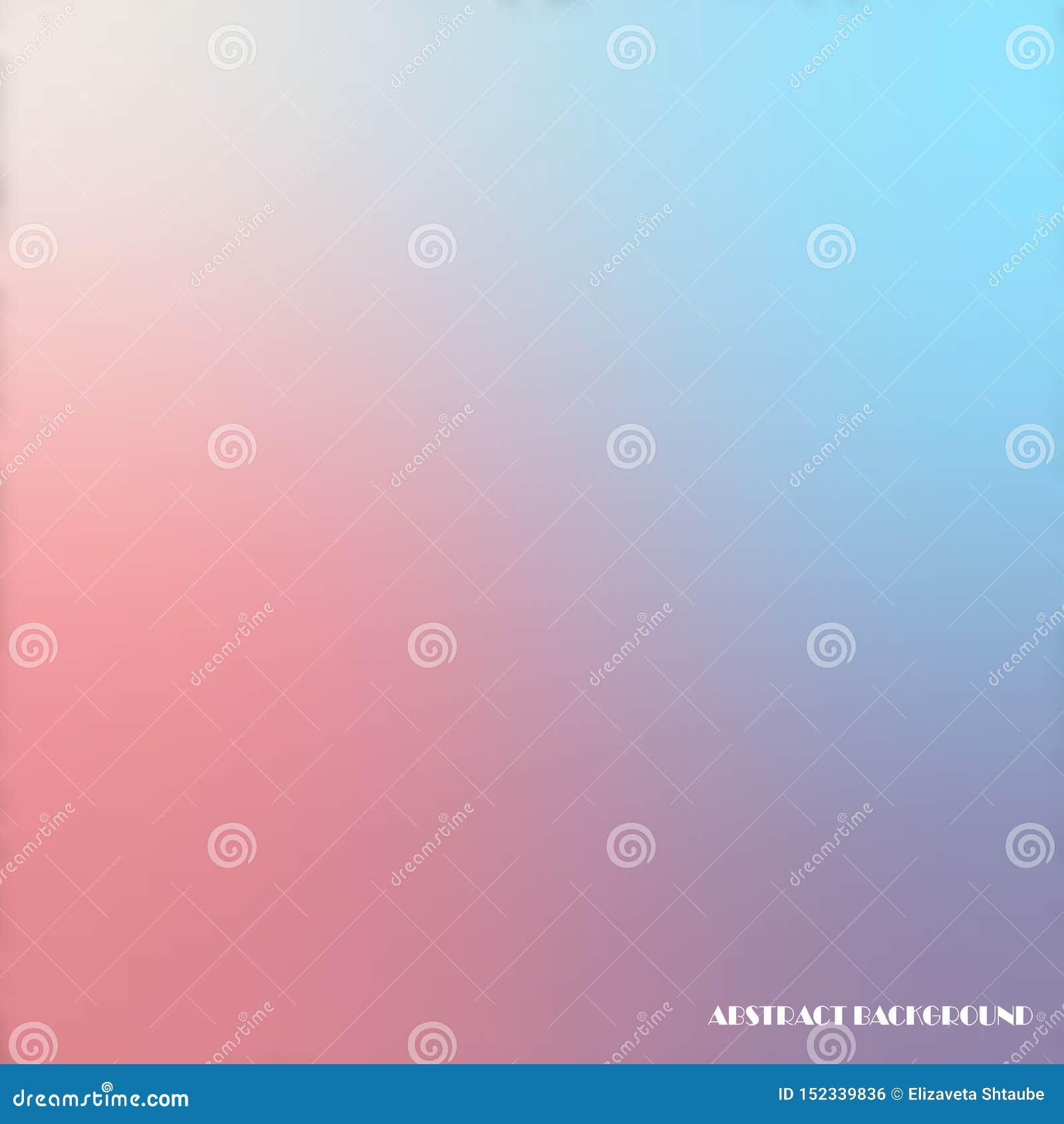 Fondo borroso multicolor creativo del extracto del vector