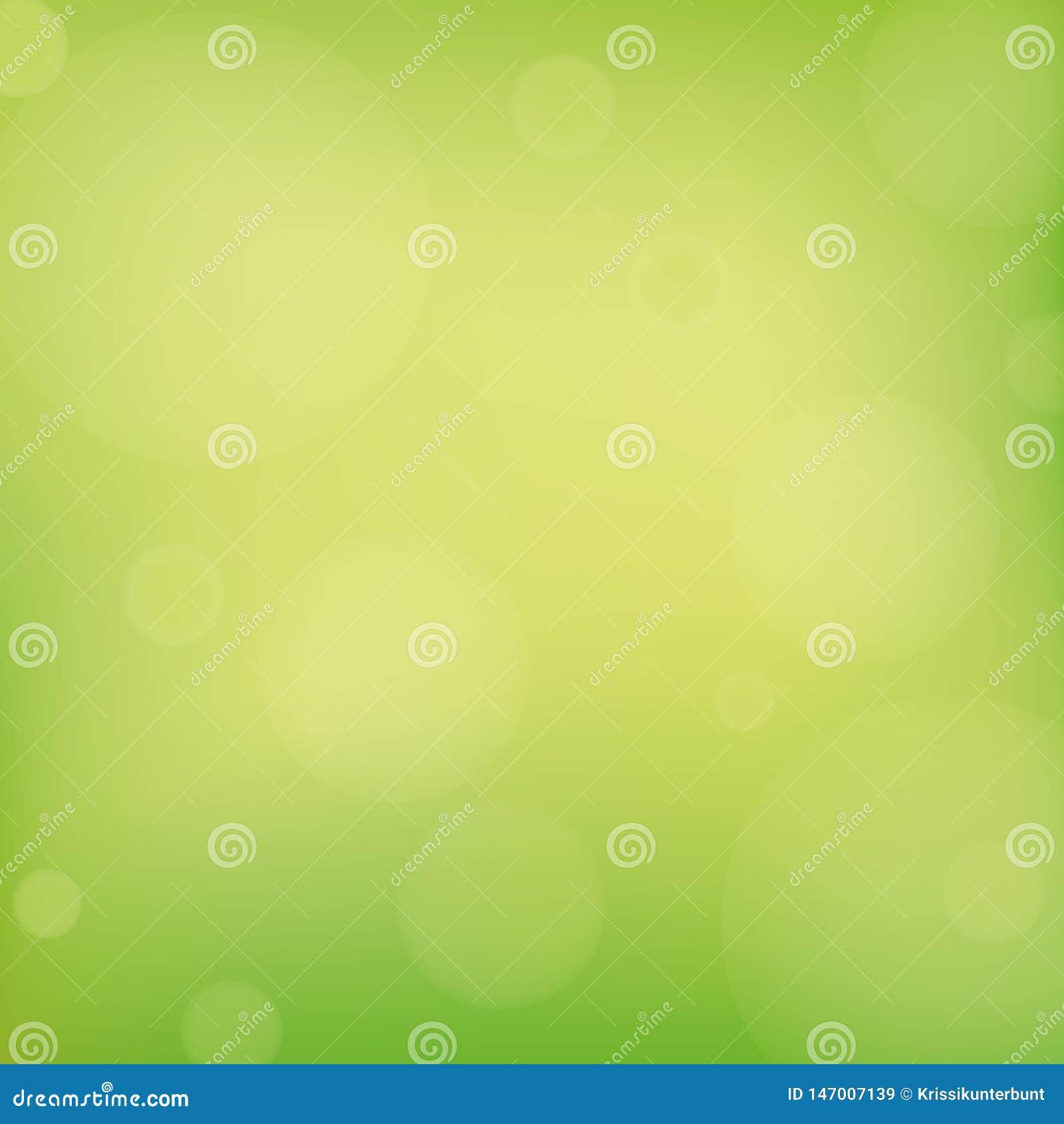 Fondo brillante de la primavera del verde del extracto