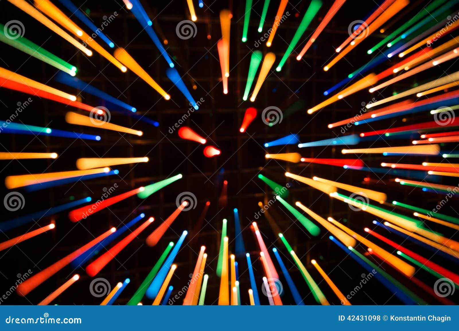 Fondo brillante de luces