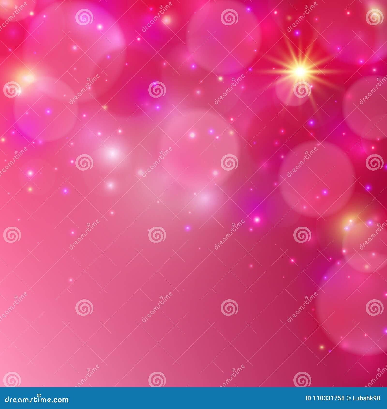 Fondo brillante rosado Fondo abstracto del vector Ilustración del vector