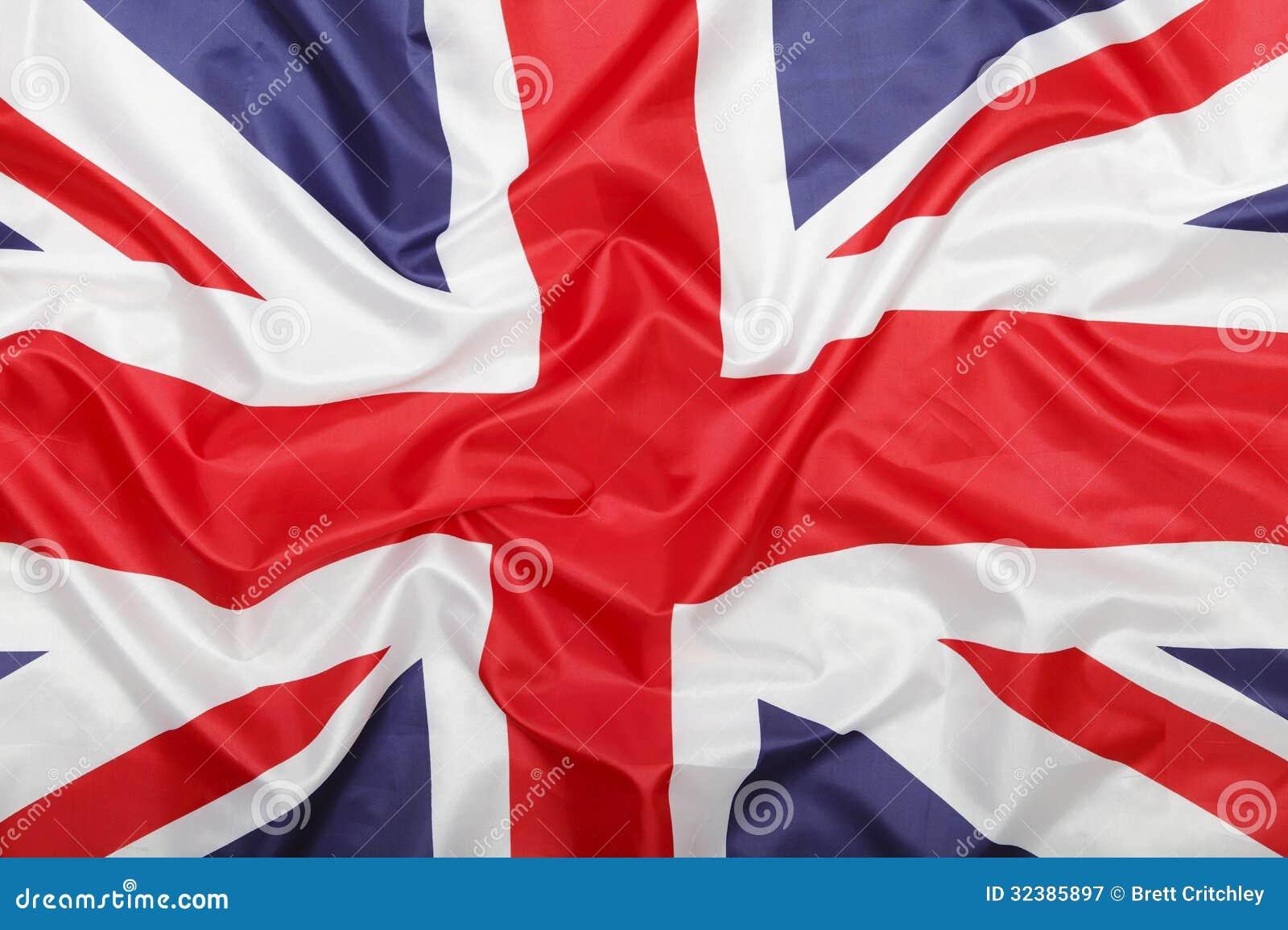 Fondo británico de la bandera