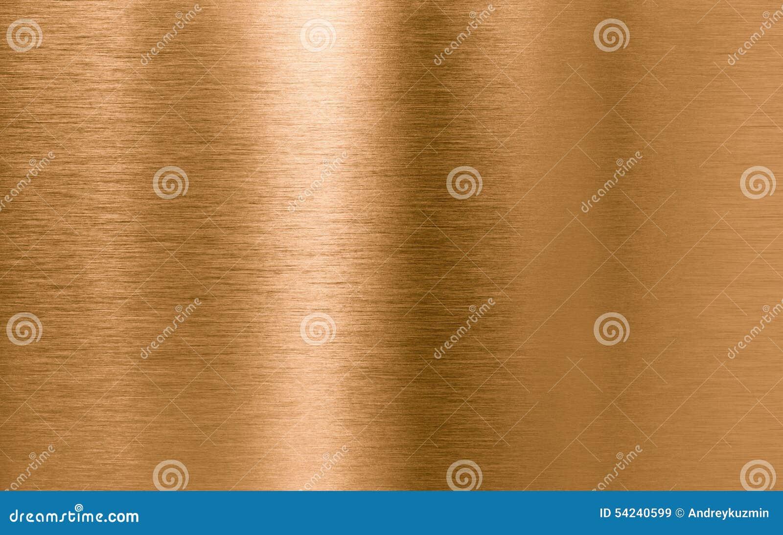Fondo bronzeo o di rame di struttura del metallo