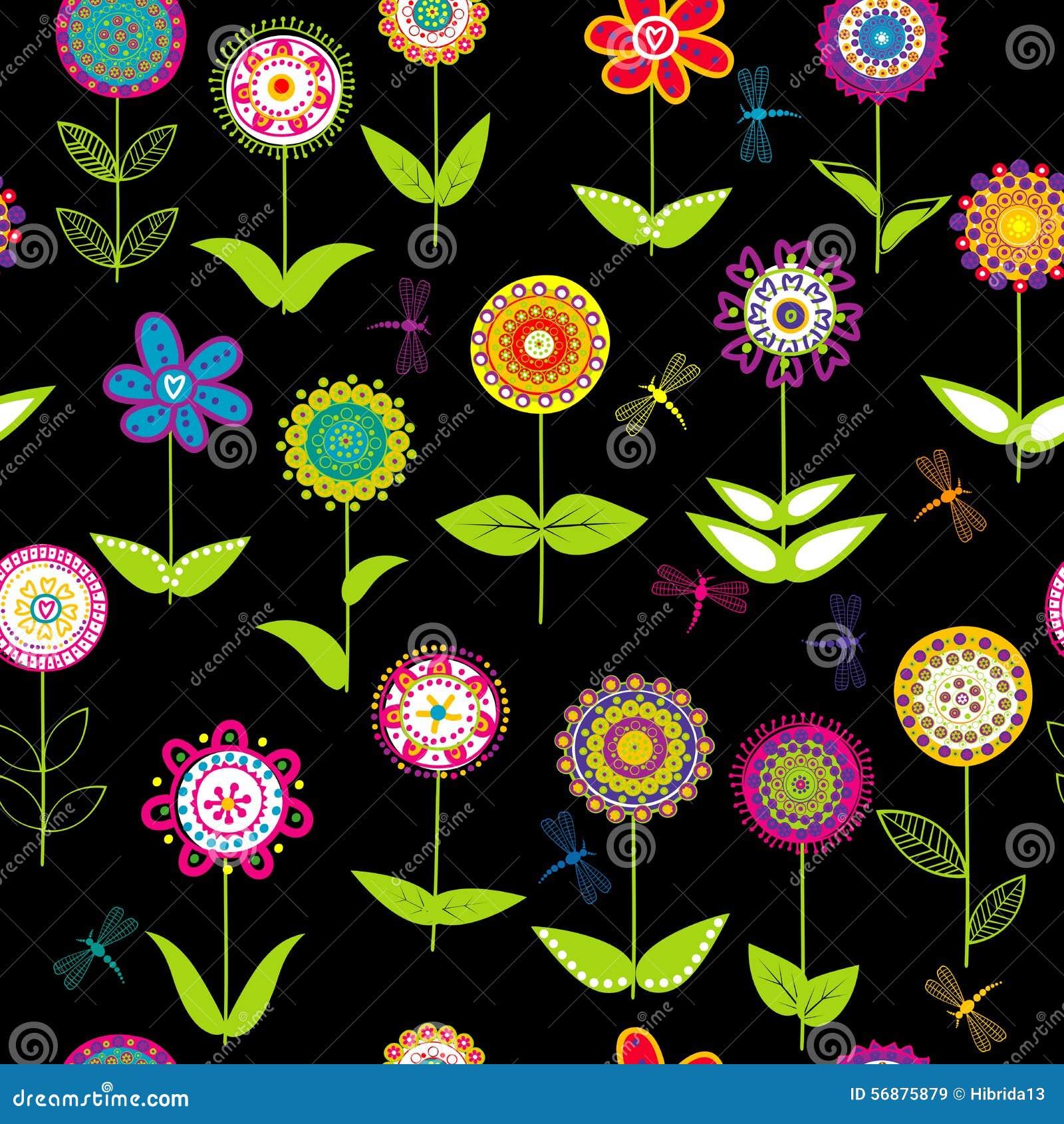 Fondo capriccioso dei fiori