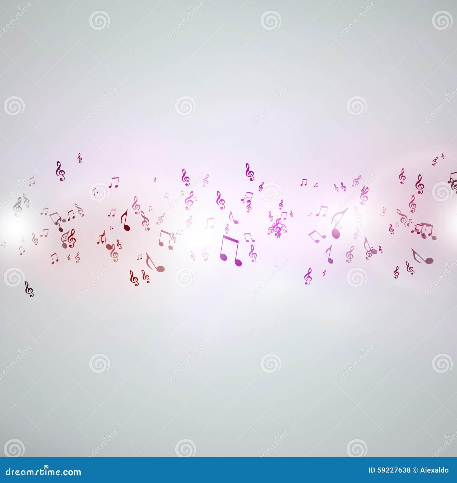 Download Fondo cobarde de la música stock de ilustración. Ilustración de clásico - 59227638