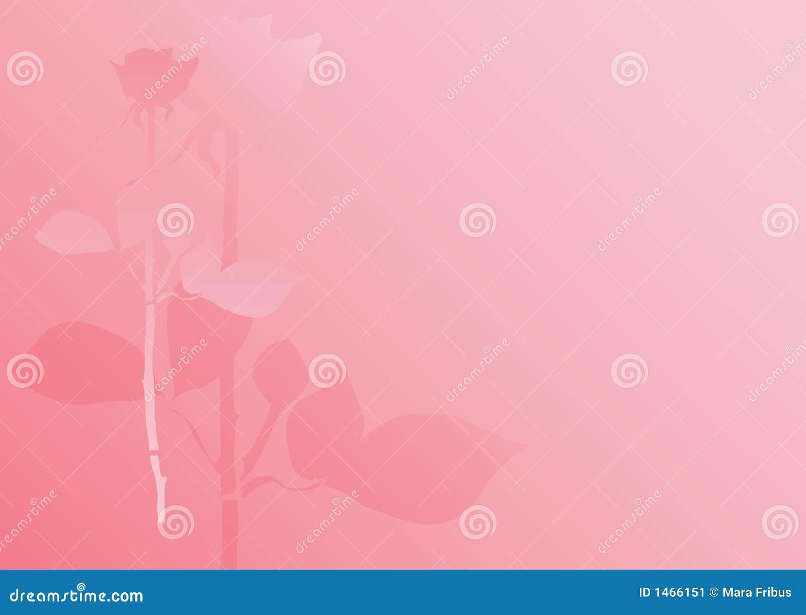 Fondo Color De Rosa Del Pastel Ilustración Del Vector