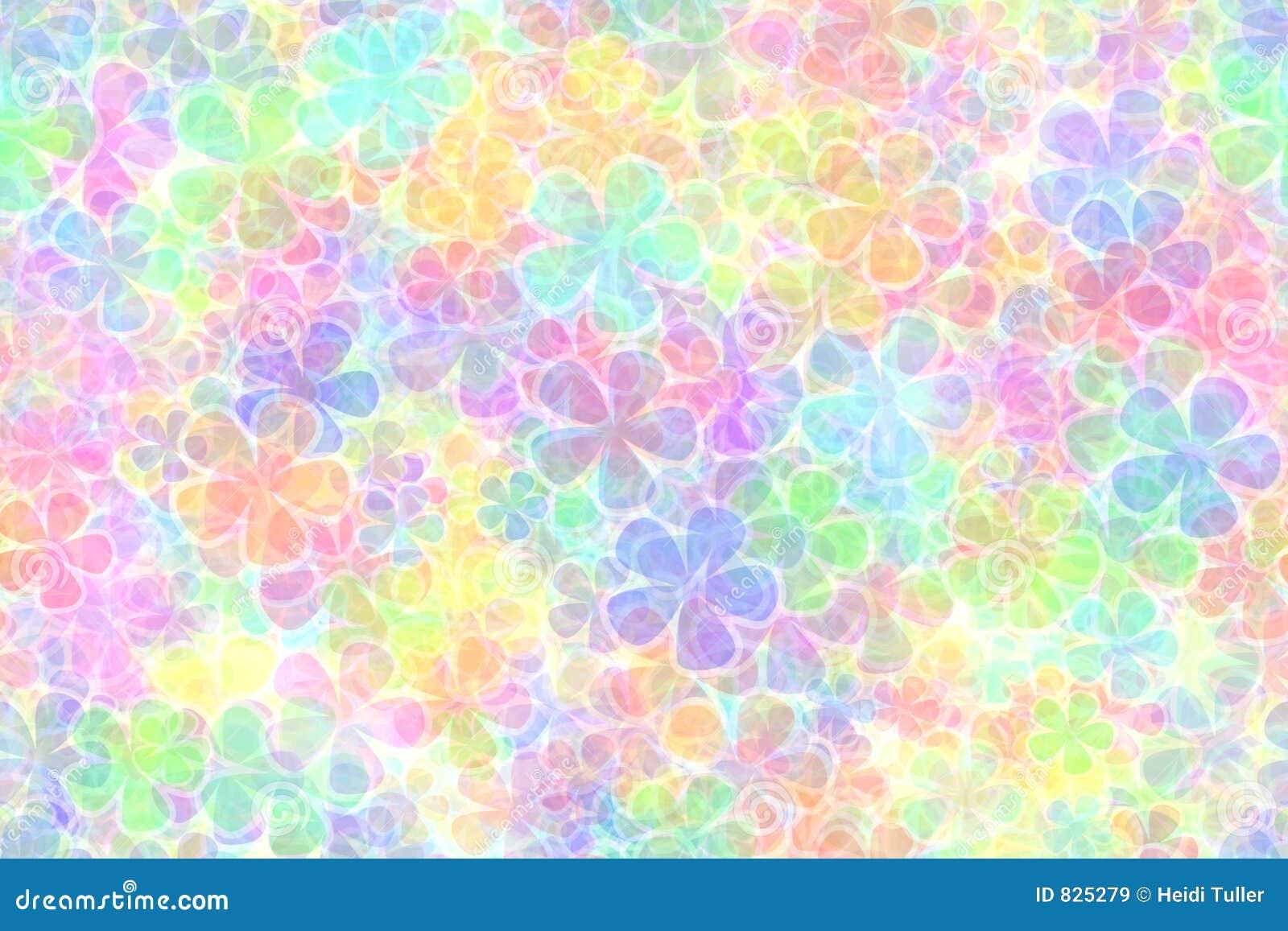 Fondo Coloreado En Colores Pastel Stock De Ilustración
