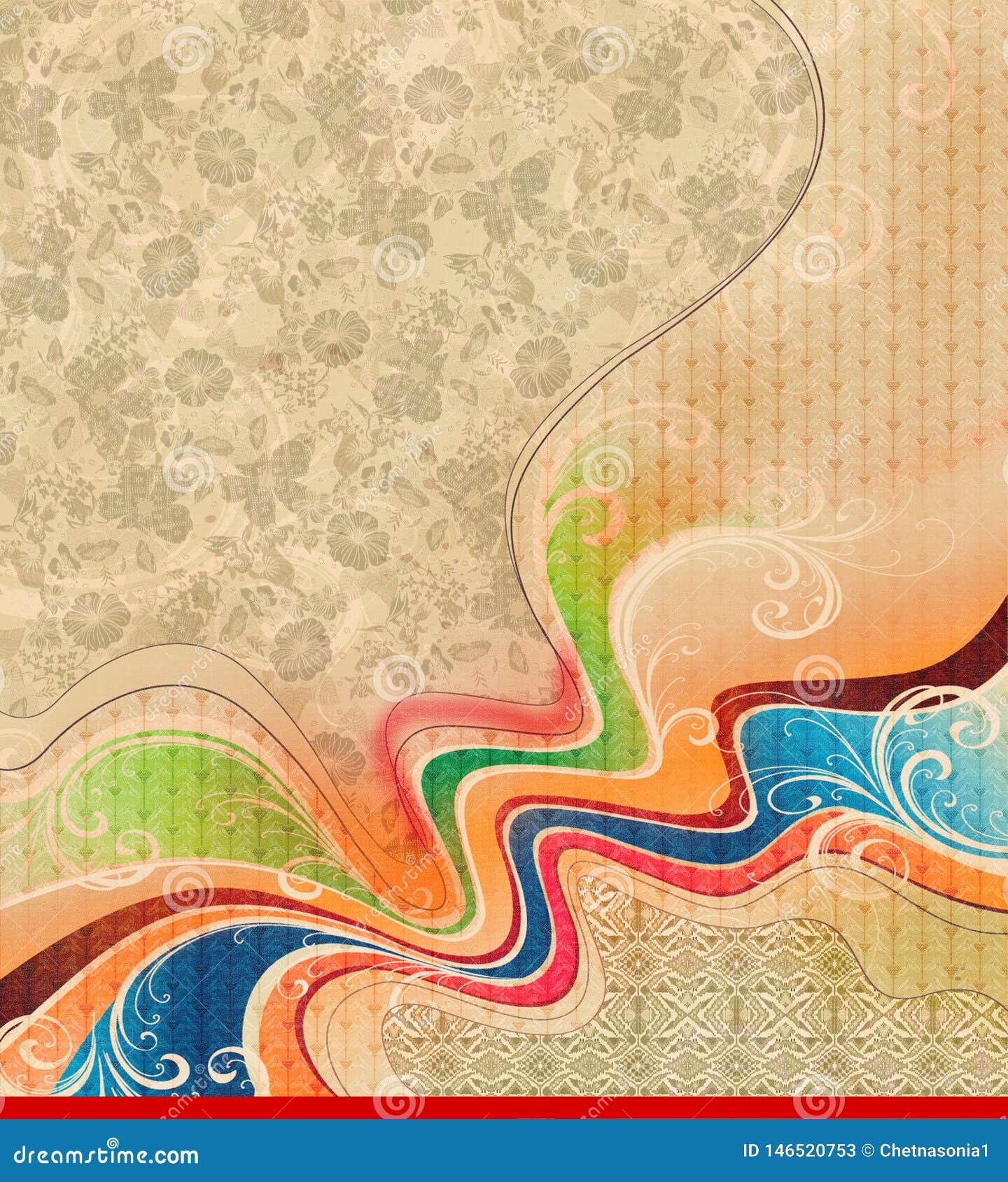 Fondo colorido abstracto de la textura