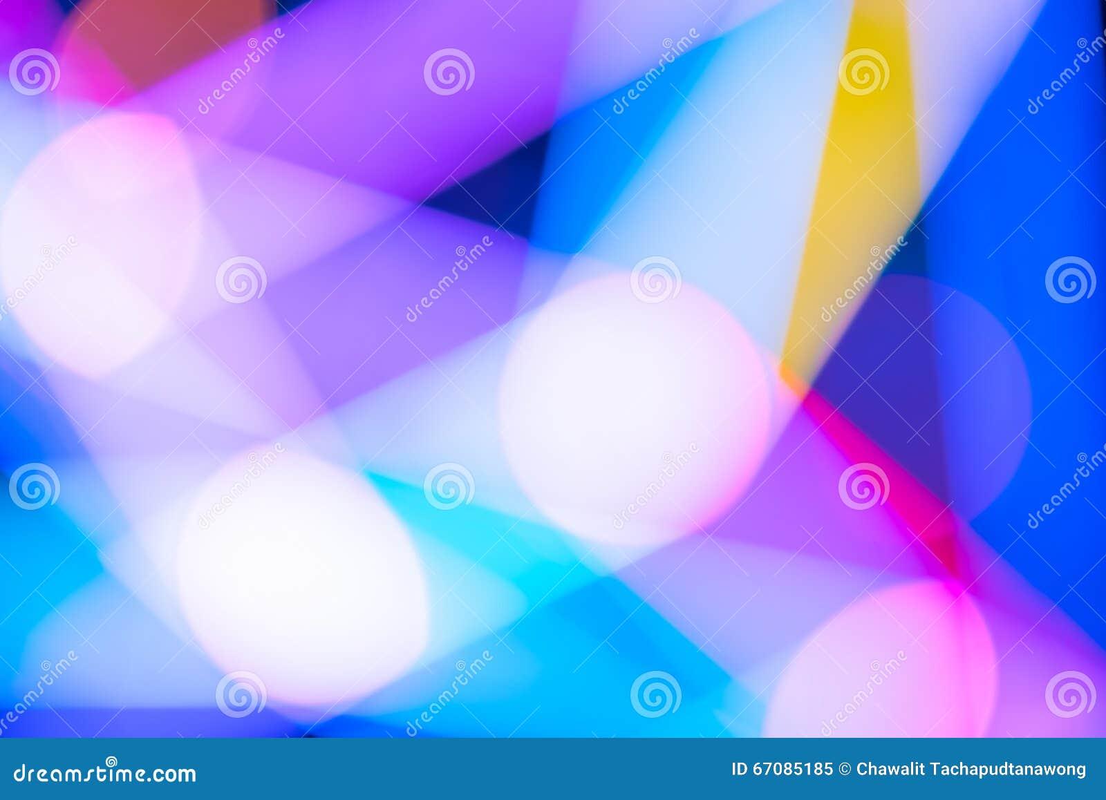 Fondo colorido de la luz del extracto del bokeh