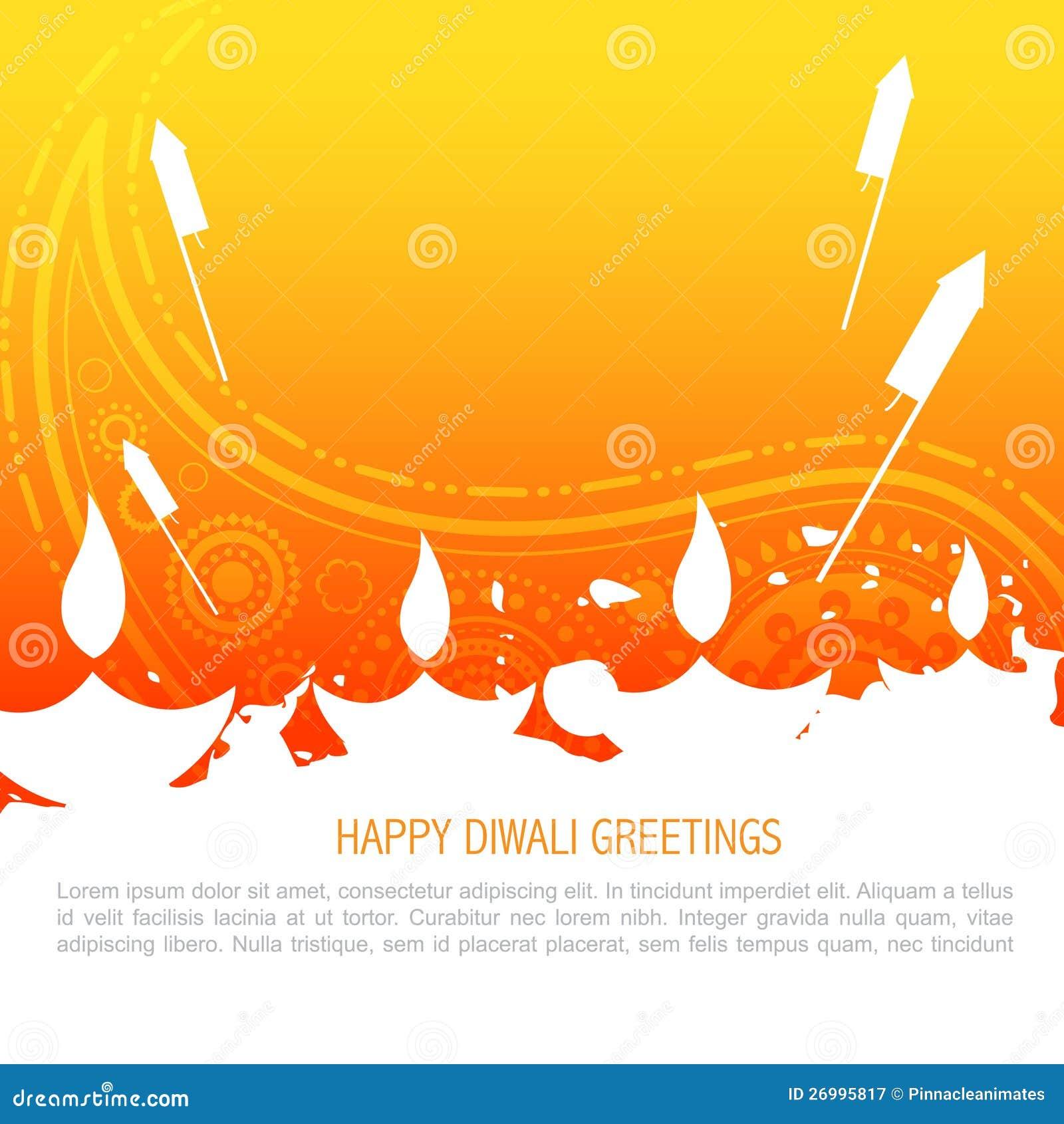 Fondo colorido del diwali