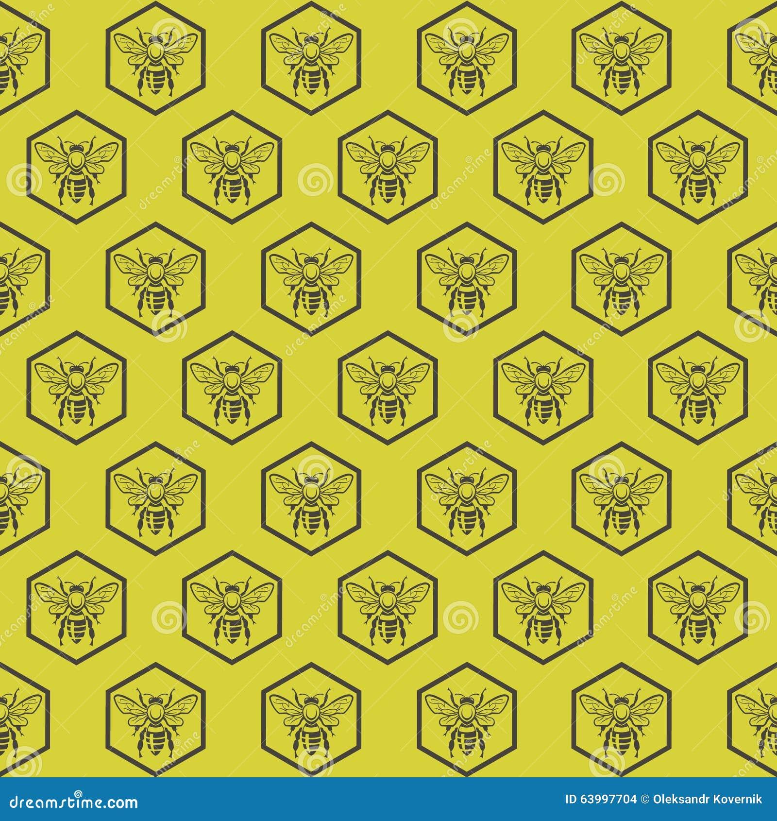 Fondo con las abejas
