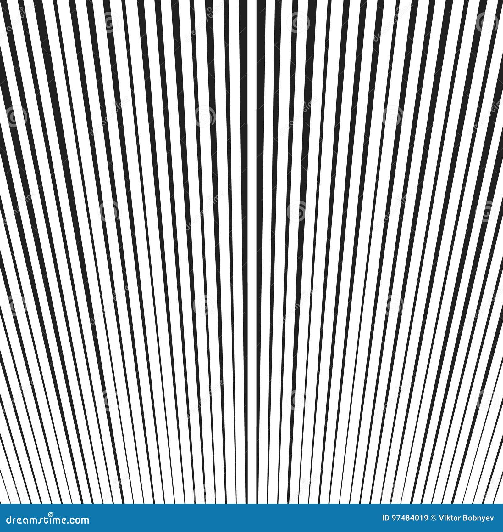 Fondo con le linee in bianco e nero