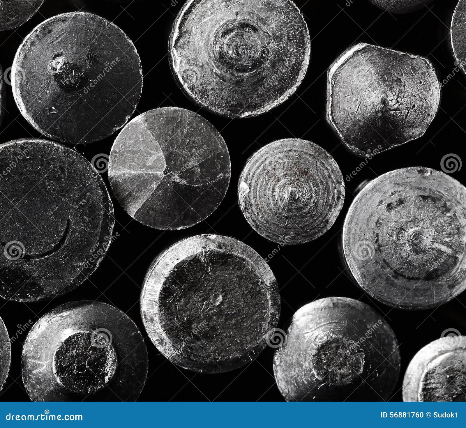 Fondo d acciaio di macro degli oggetti