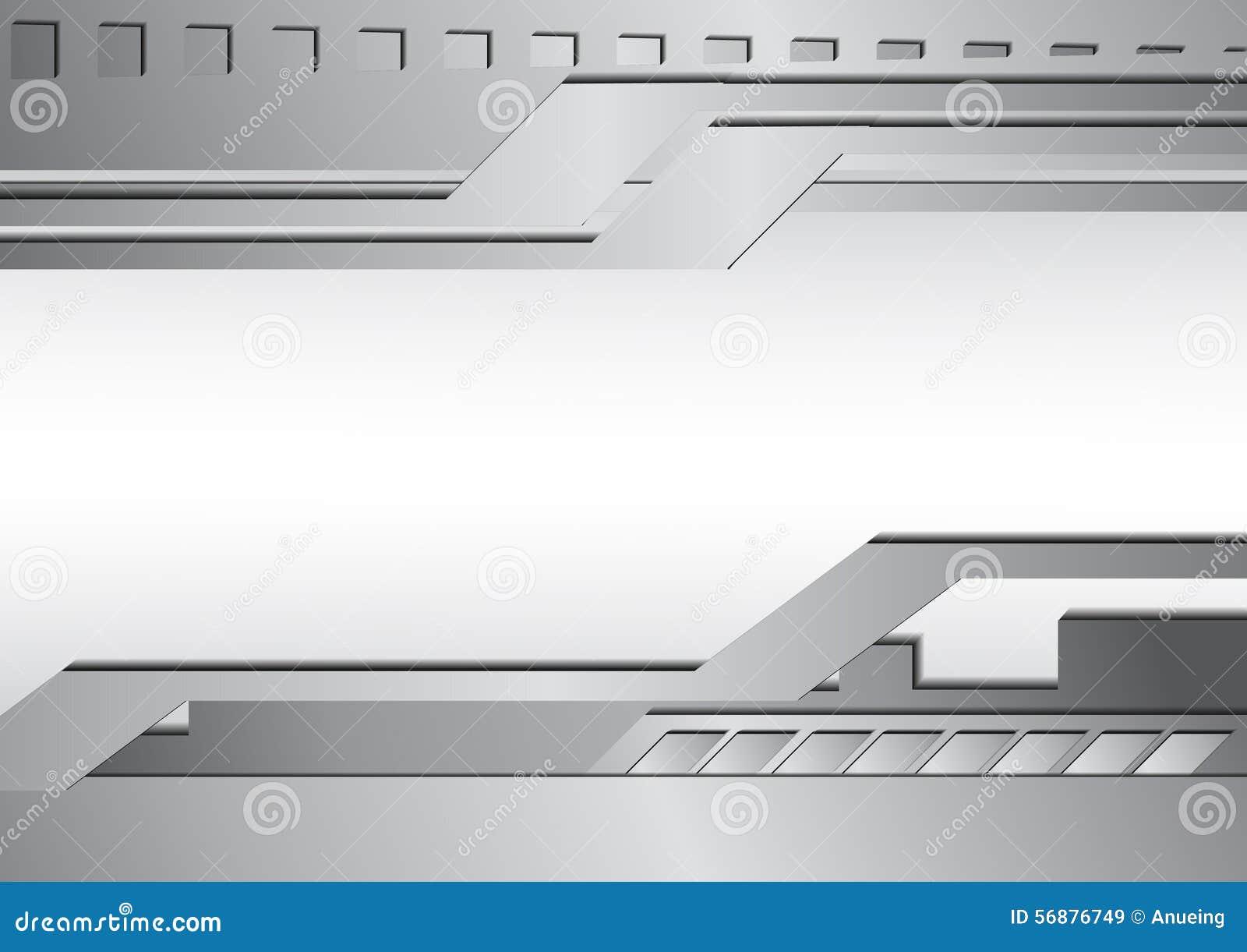 Fondo d argento dell estratto del metallo