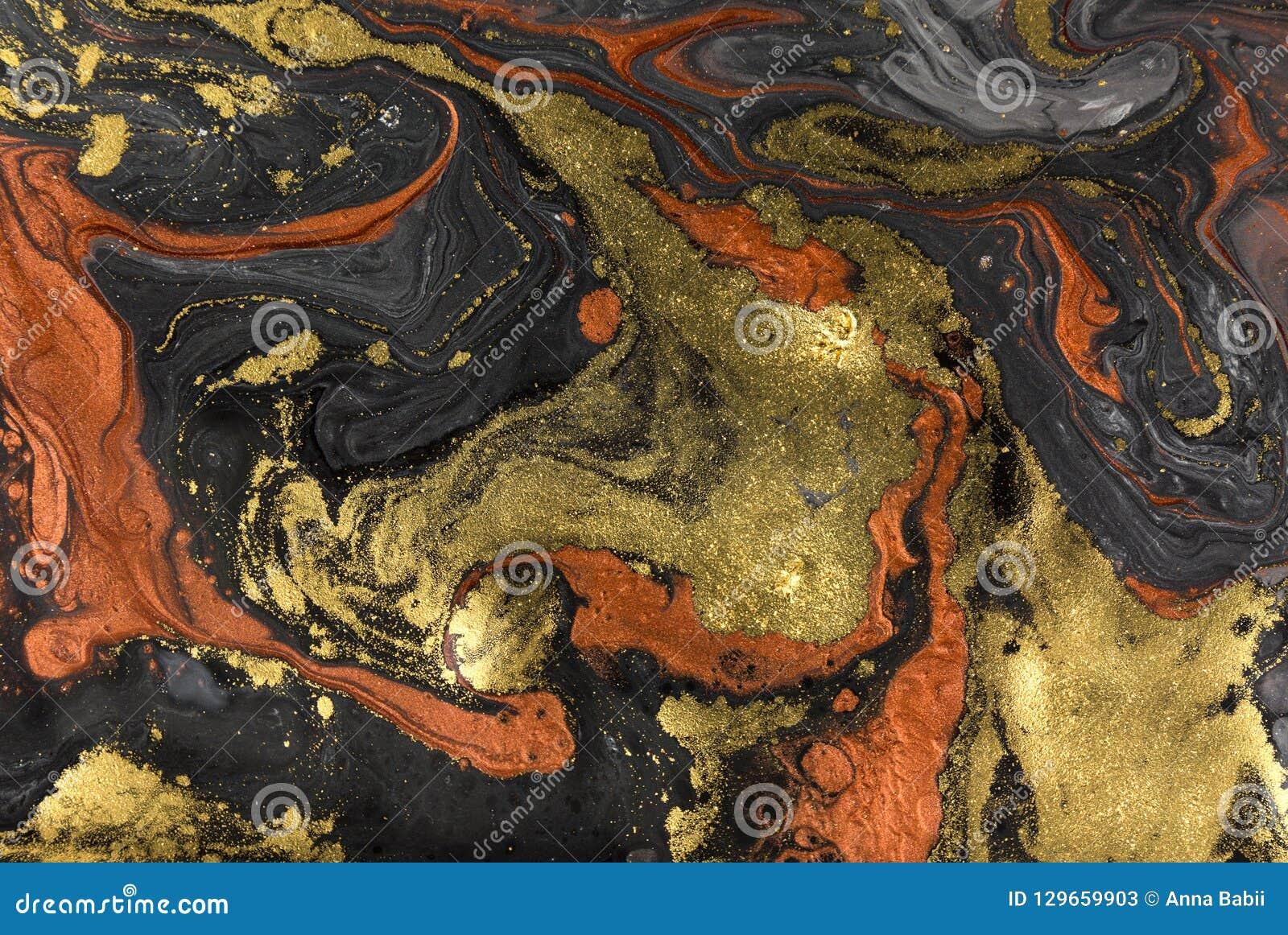 Fondo de acrílico abstracto de mármol Textura de las ilustraciones de la naturaleza que vetea