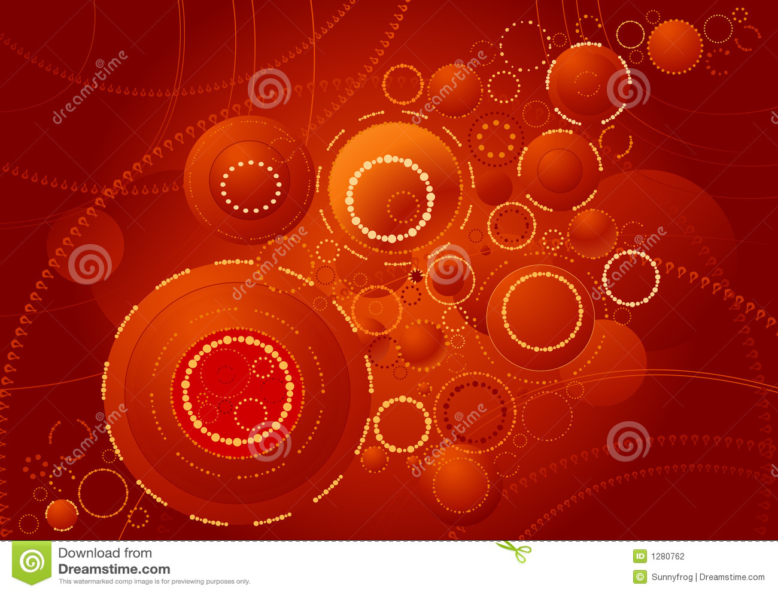 Download Fondo de anillos, vector ilustración del vector. Ilustración de shape - 1280762