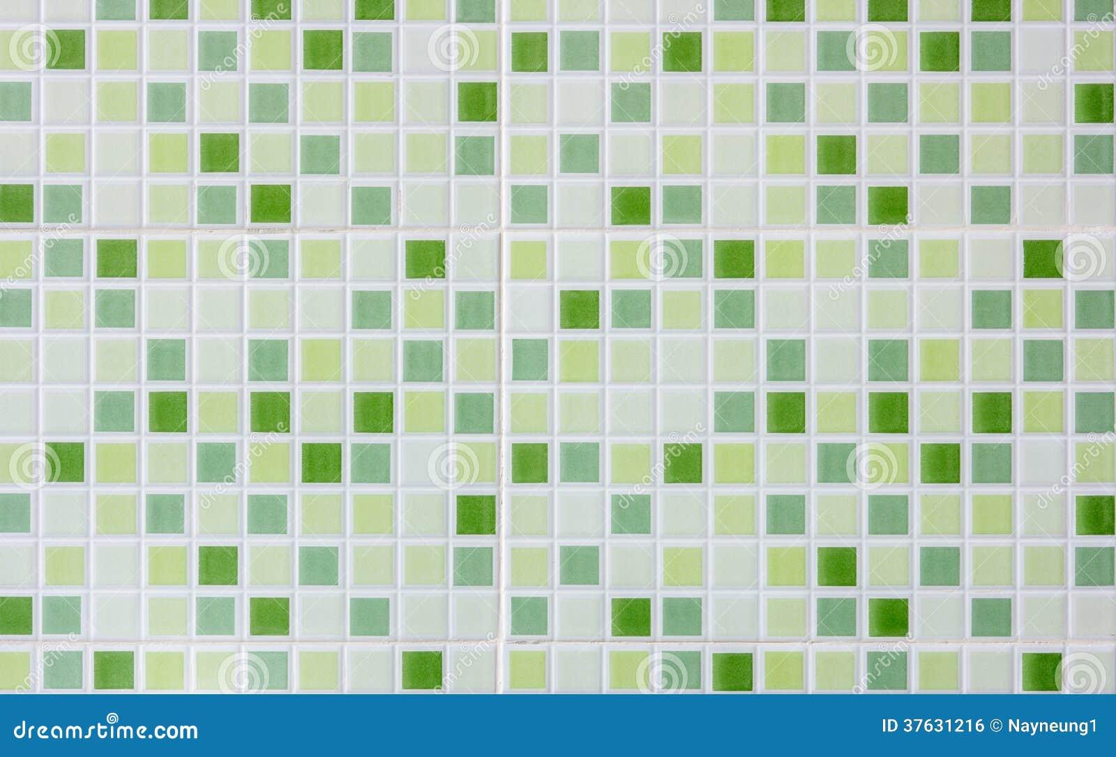 Fondo de cer mica verde del mosaico de la falta de Definicion de ceramica