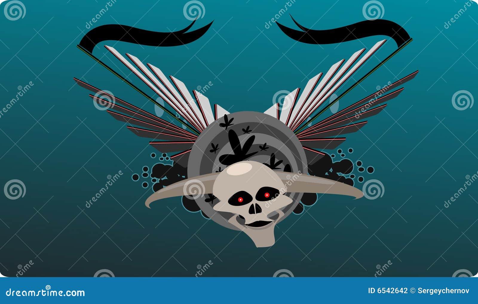 Fondo de cuernos del cráneo