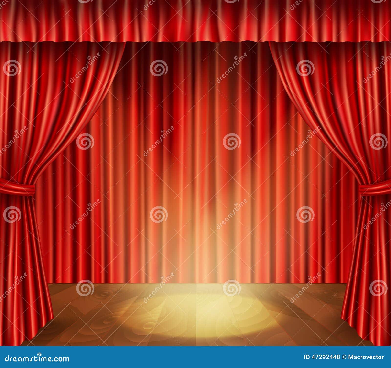 Fondo de etapa del teatro