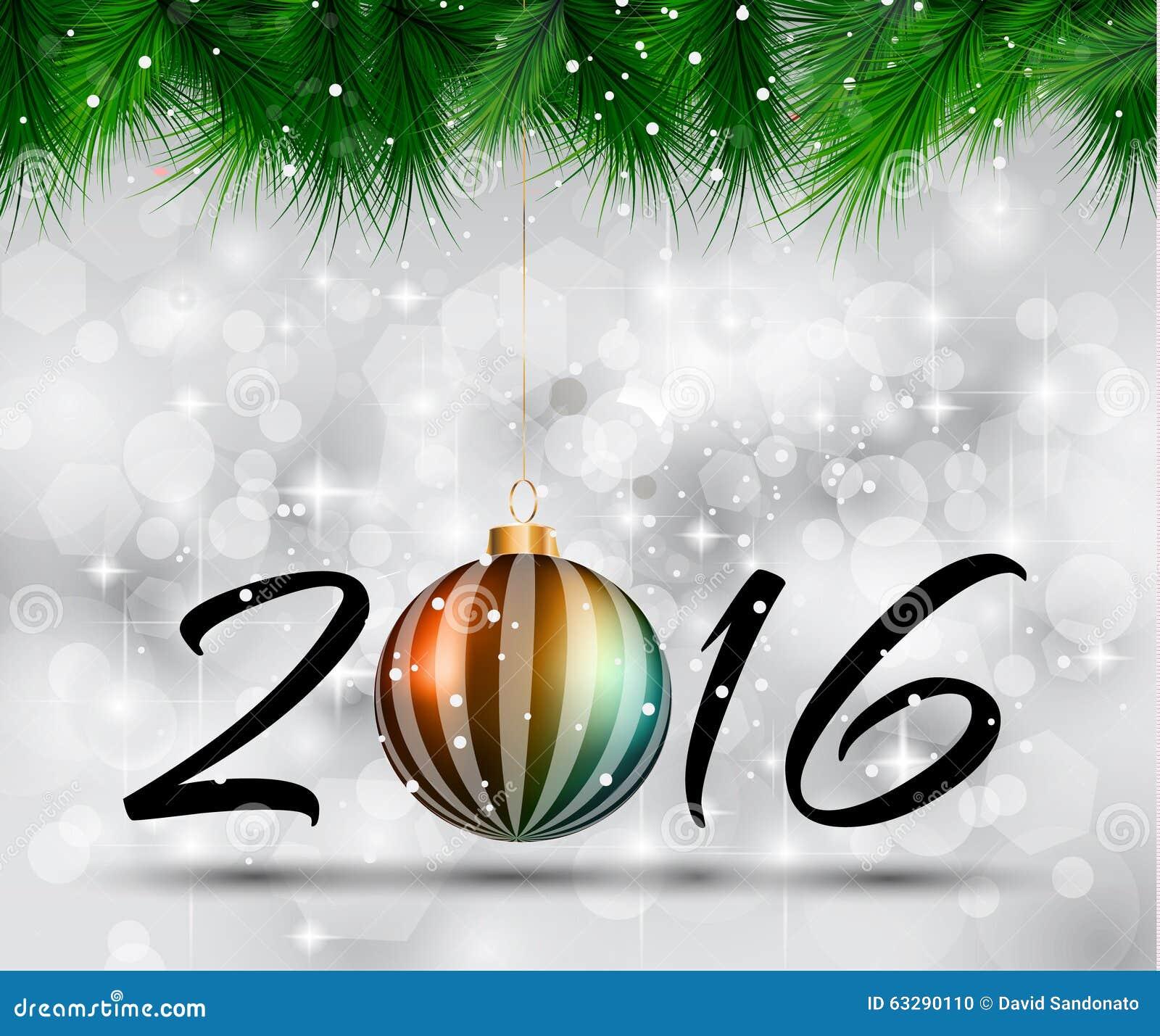 Fondo de la feliz navidad 2016 y de la feliz a o nuevo Ruta de la navidad 2016