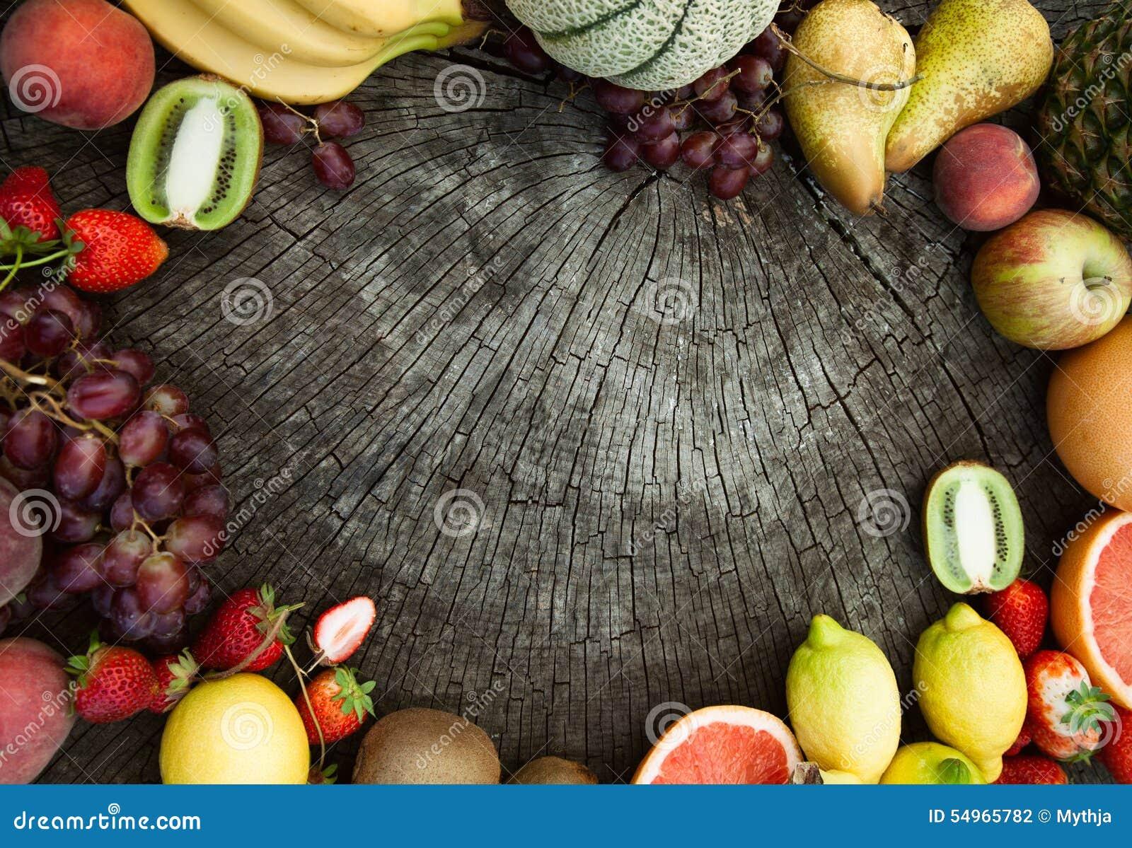Fondo de la fruta