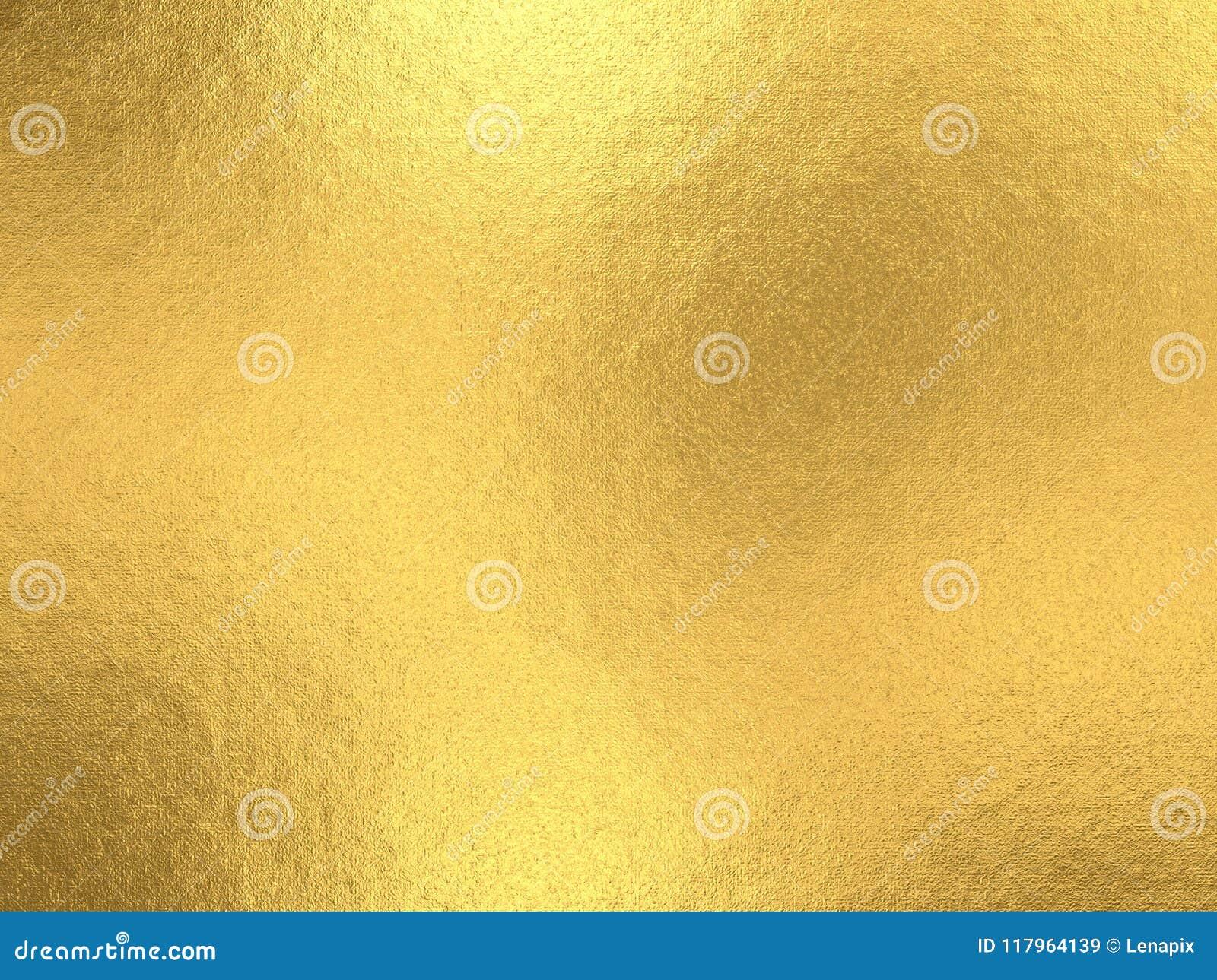 Fondo de la hoja de oro con reflejos de luz