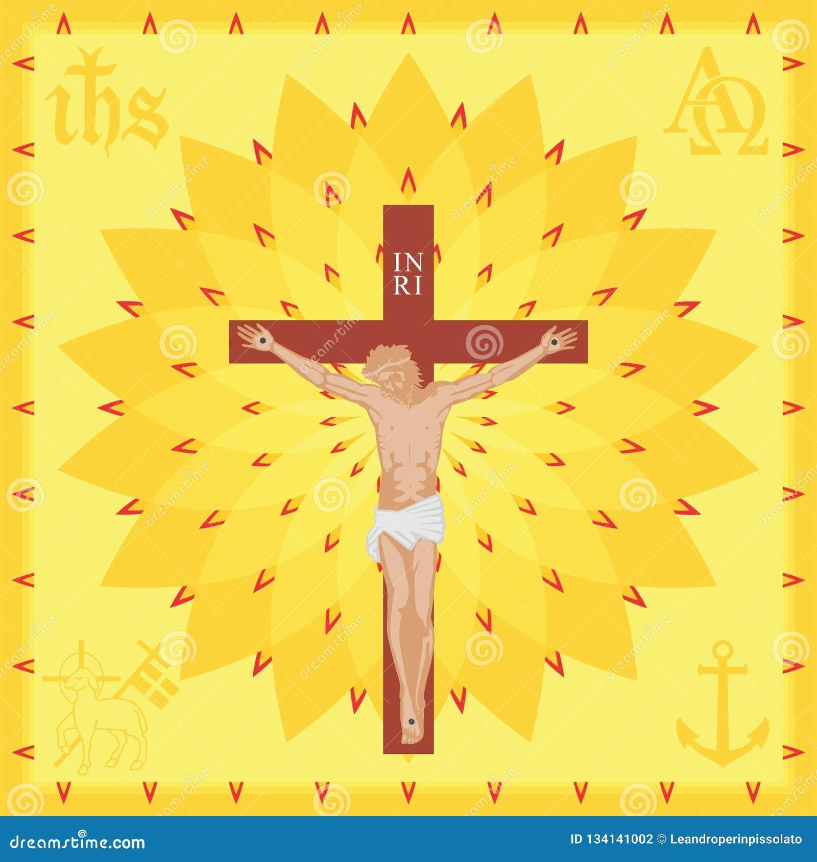 Fondo de la iglesia de Cristo Lleno coloreado