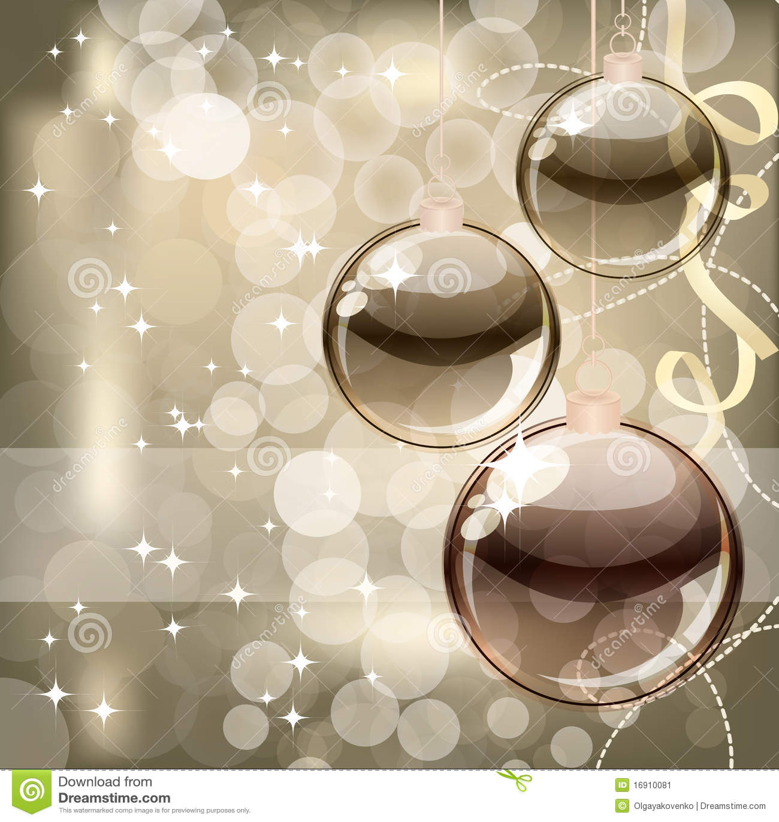 Fondo de la navidad con las bolas transparentes - Bolas navidad transparentes ...