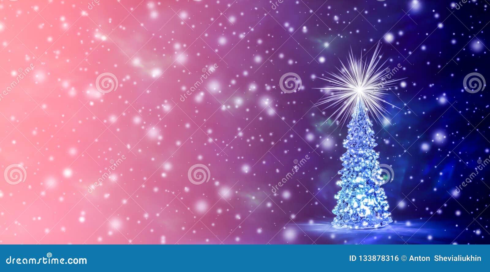 Fondo de la Navidad y del Año Nuevo en el color natural del coral vivo - el color del año 2019