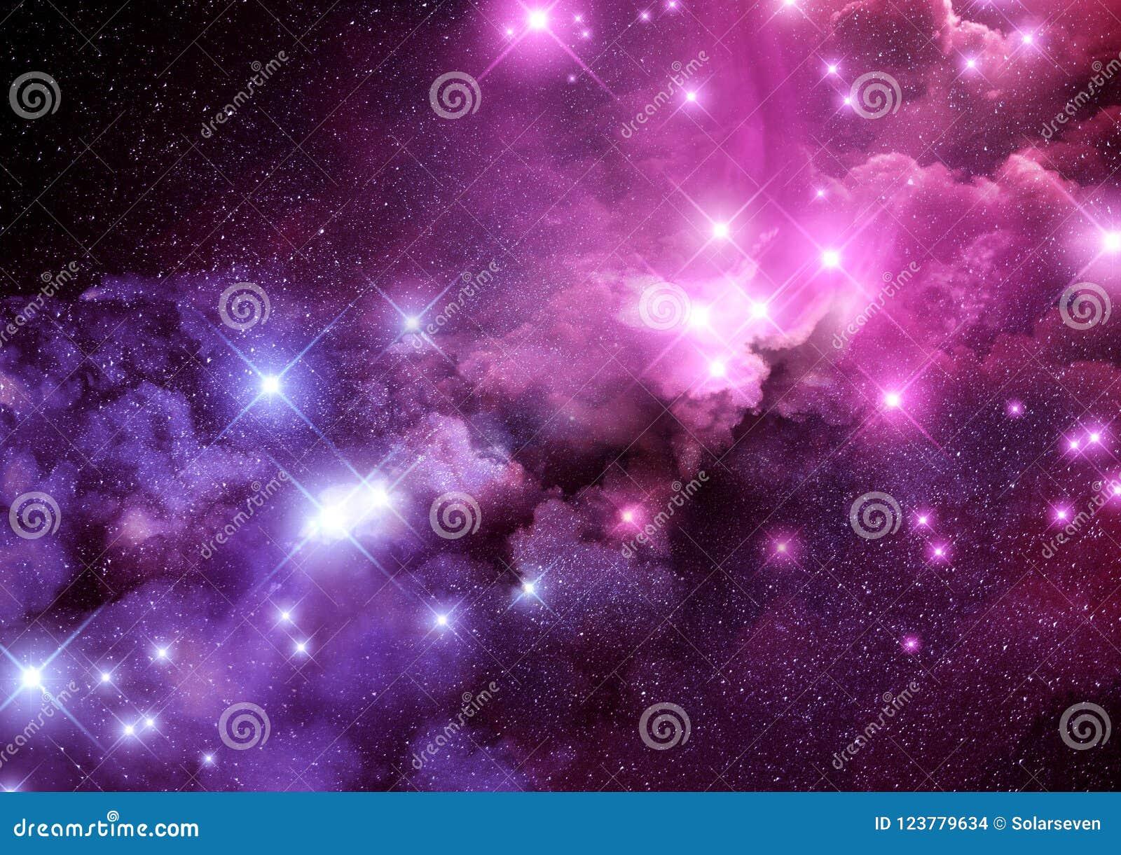 Fondo de la nebulosa de la galaxia