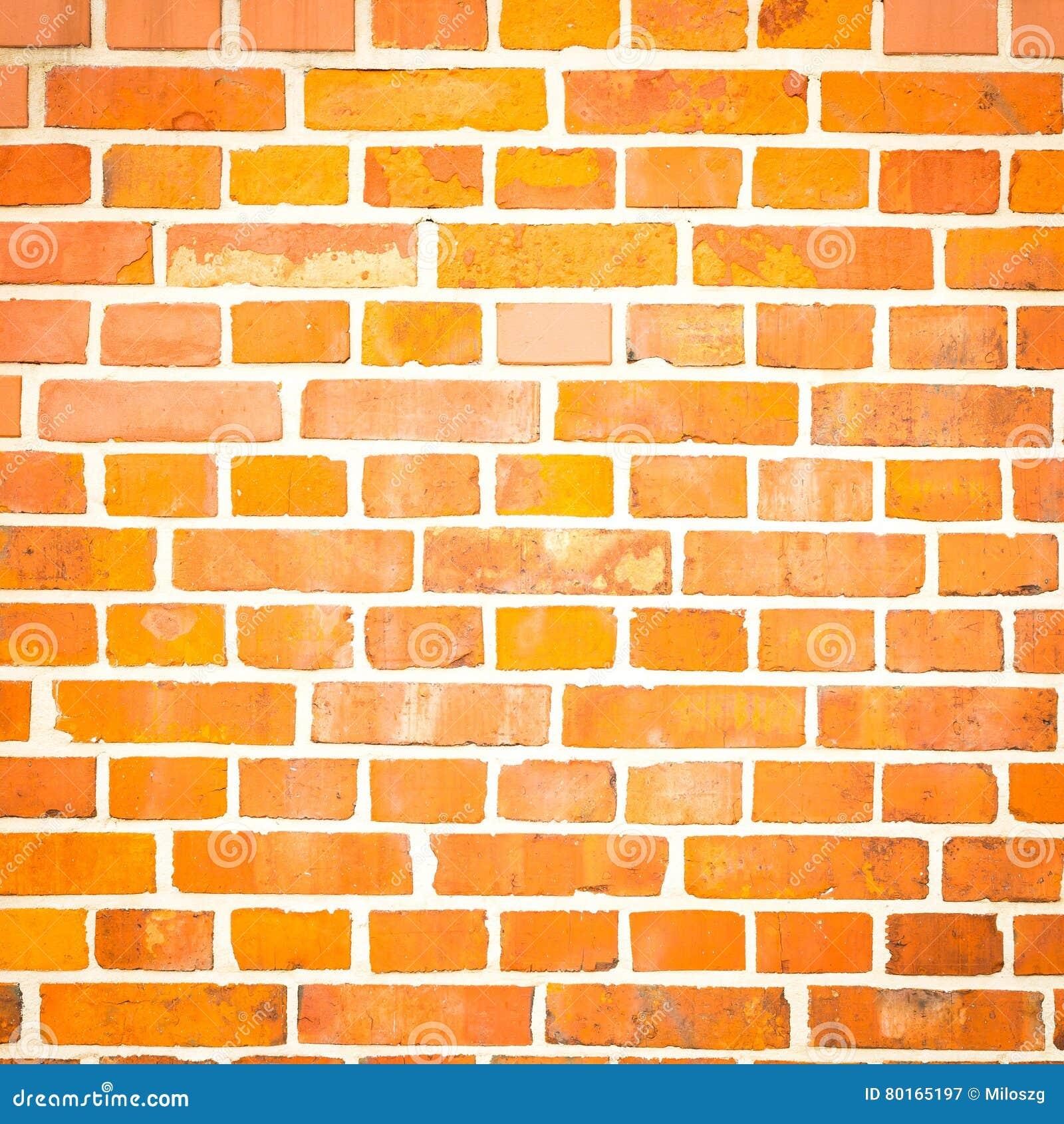 Fondo de la pared de ladrillos rojos imagen de archivo - Pared de ladrillo ...
