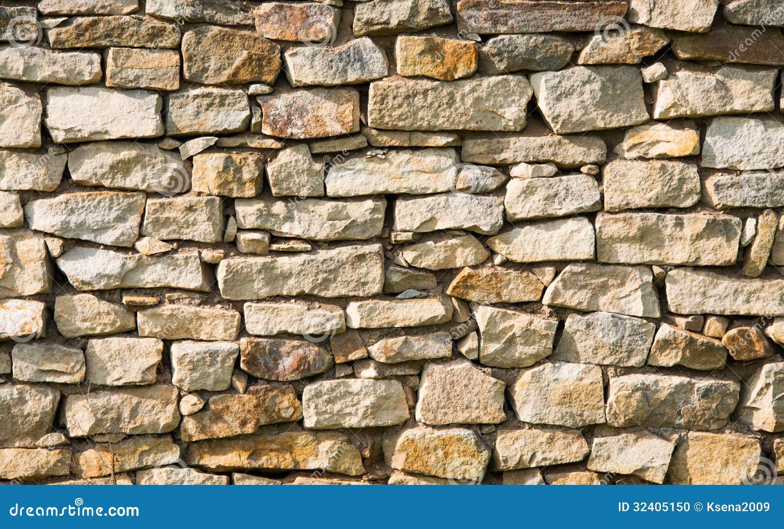 Fondo de la pared de piedra foto de archivo imagen 32405150 - Hacer pared de piedra ...