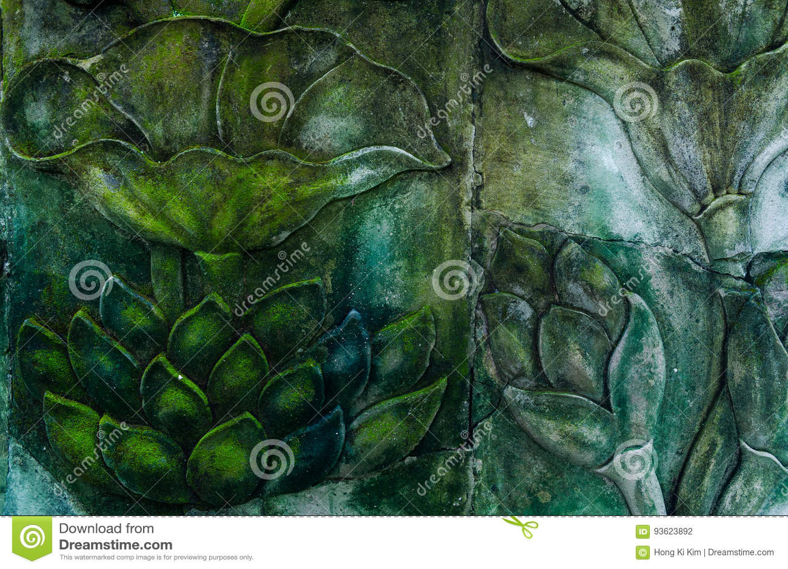 Fondo de la pared de piedra 1 del estampado de plores