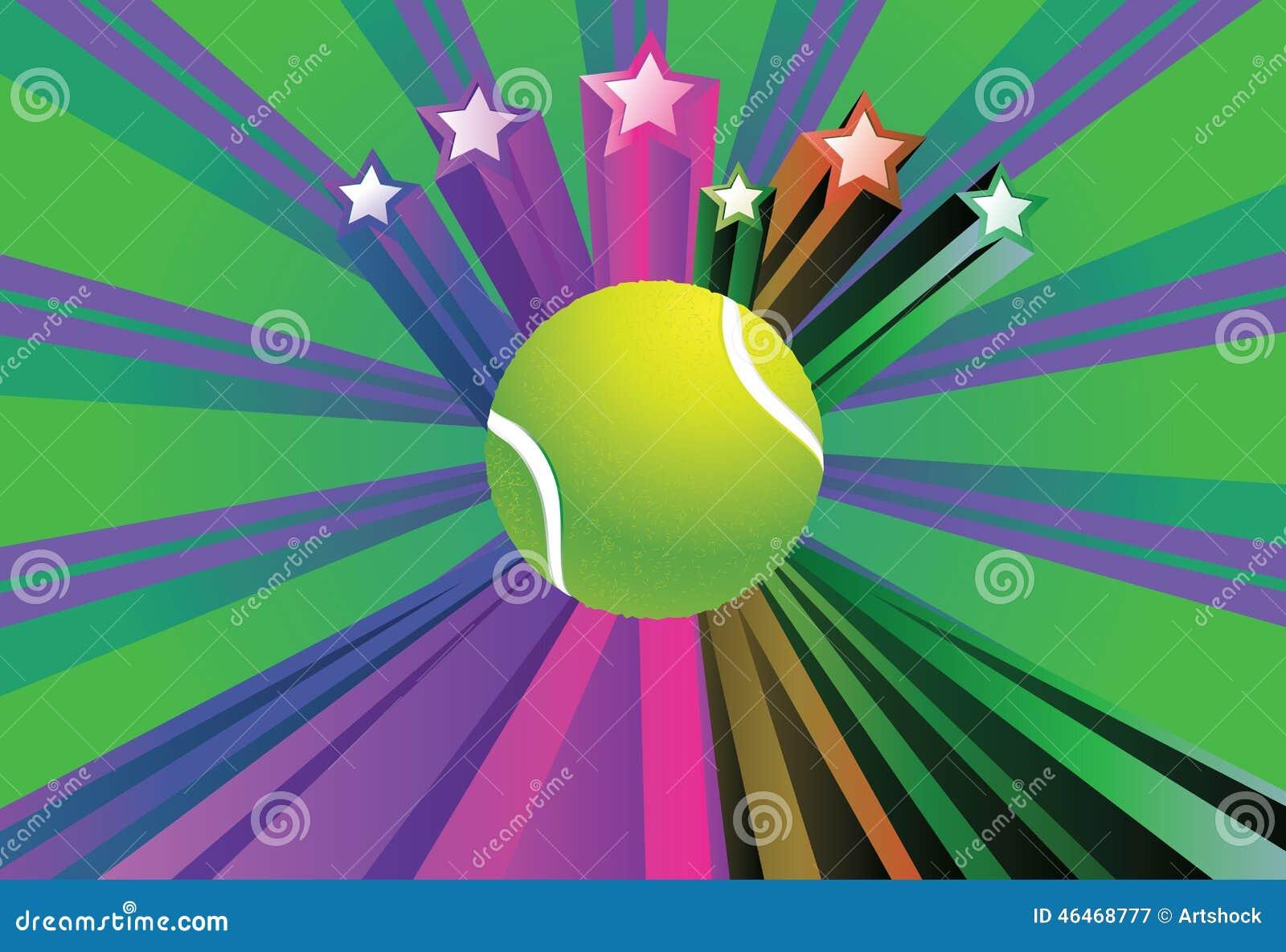 Tenis pelota stock de ilustracion ilustracion libre de stock de - Fondo De La Pelota De Tenis Stock De Ilustraci N