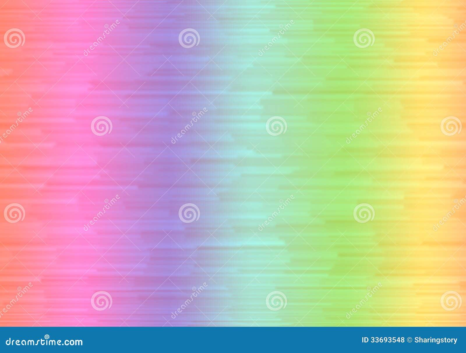 Fondo de la pendiente del arco iris