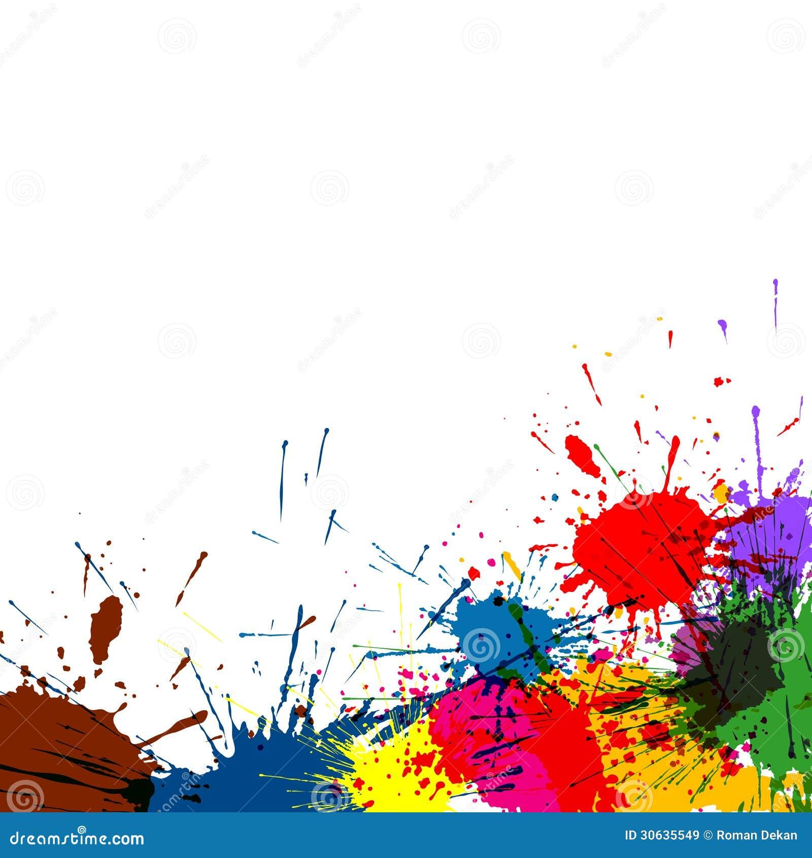 salpicadura de pintura fondo - photo #3