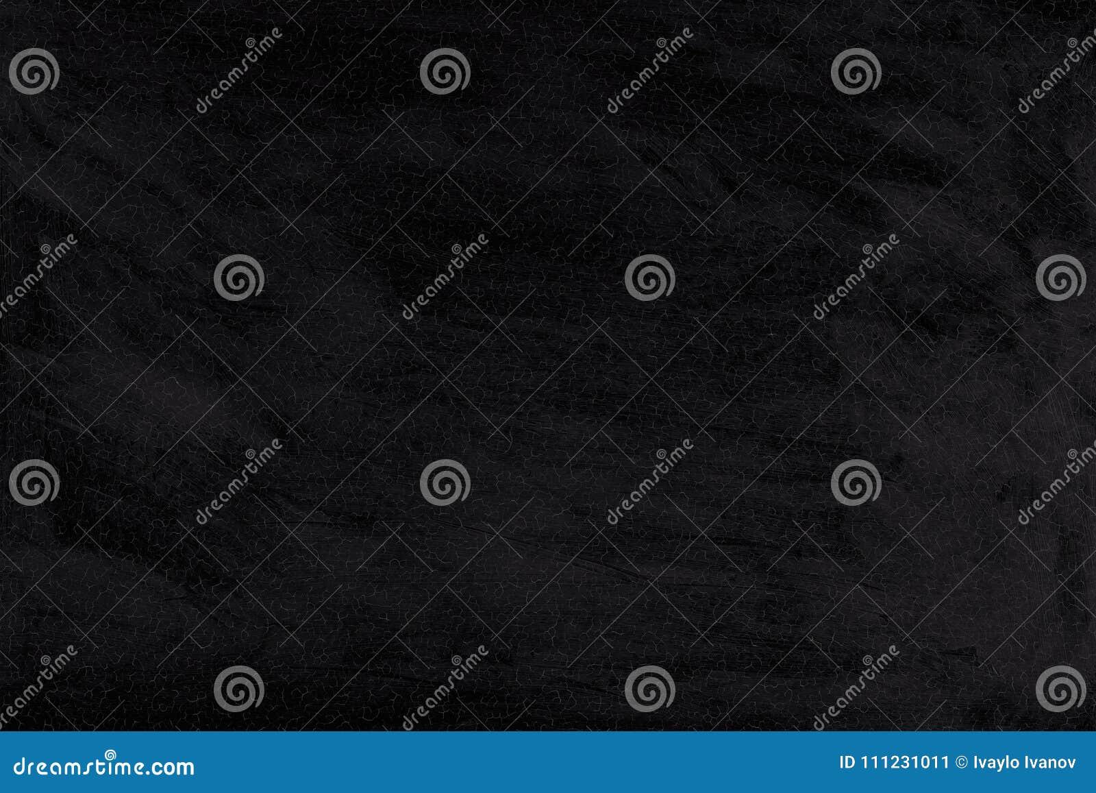 Fondo de la pintura lavada negro agrietado Textura de la pared vieja