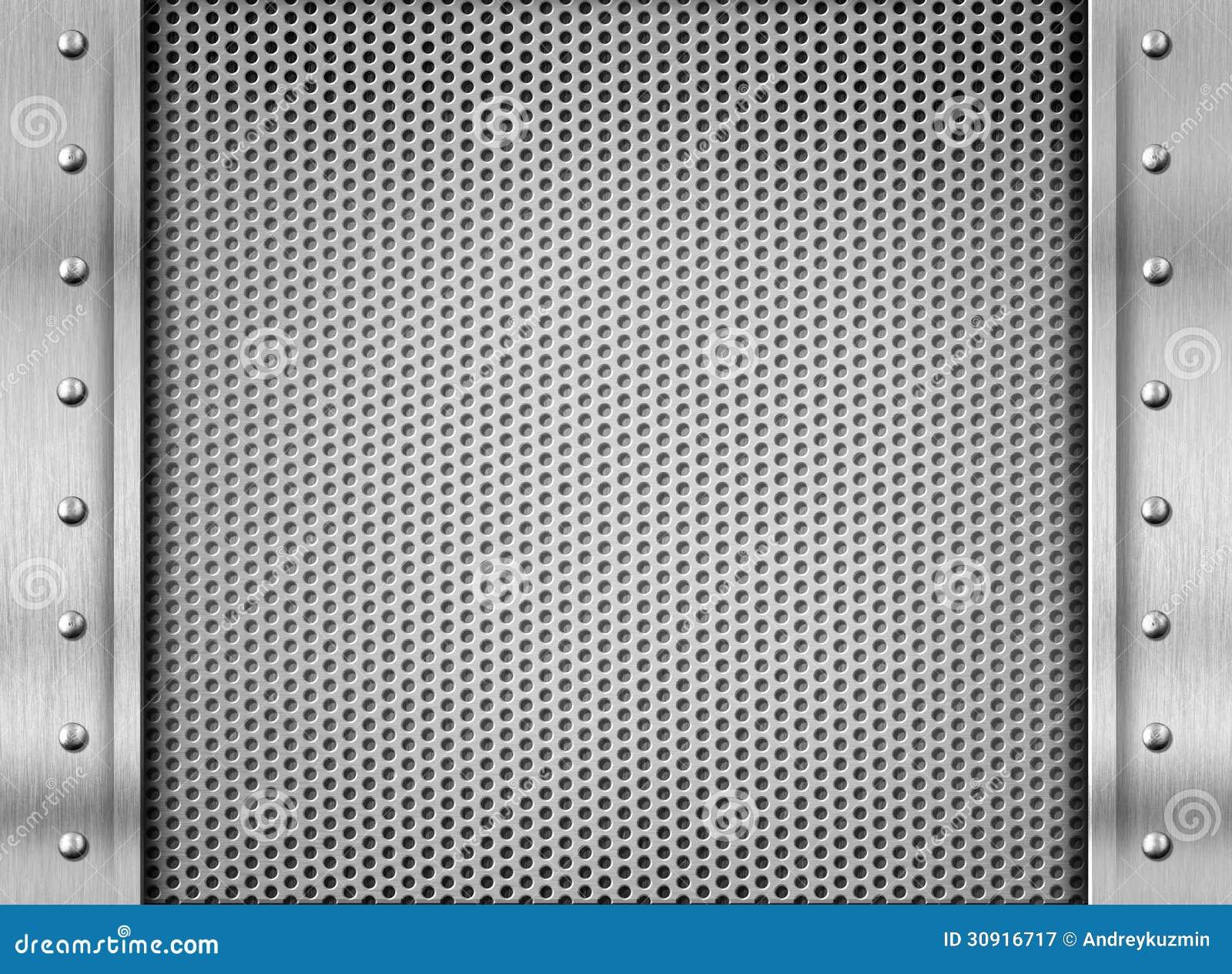 Fondo de la placa de acero de la textura del metal for Placa de acero