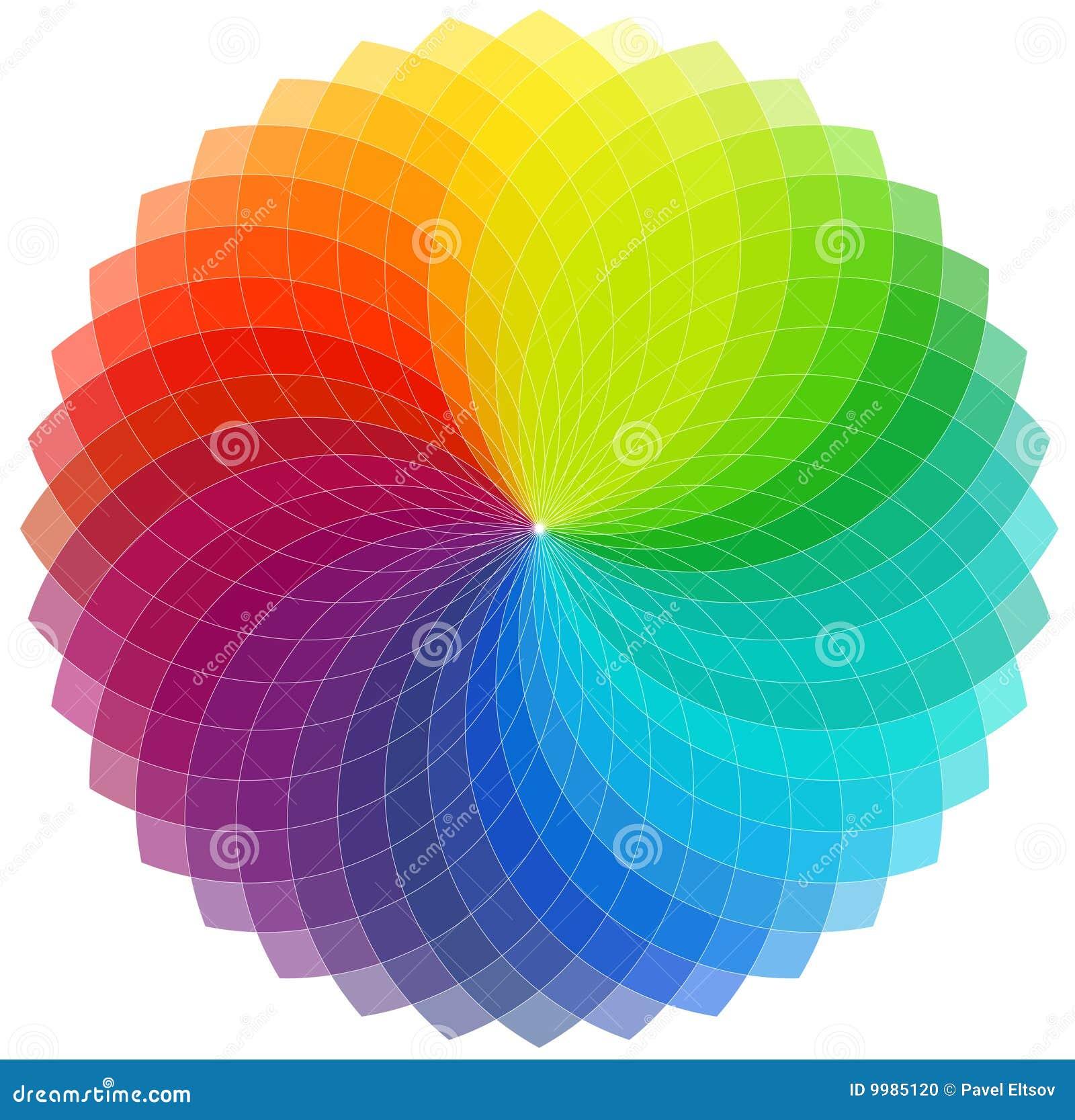 Fondo de la rueda de color foto de archivo imagen 9985120 - Rueda de colores ...